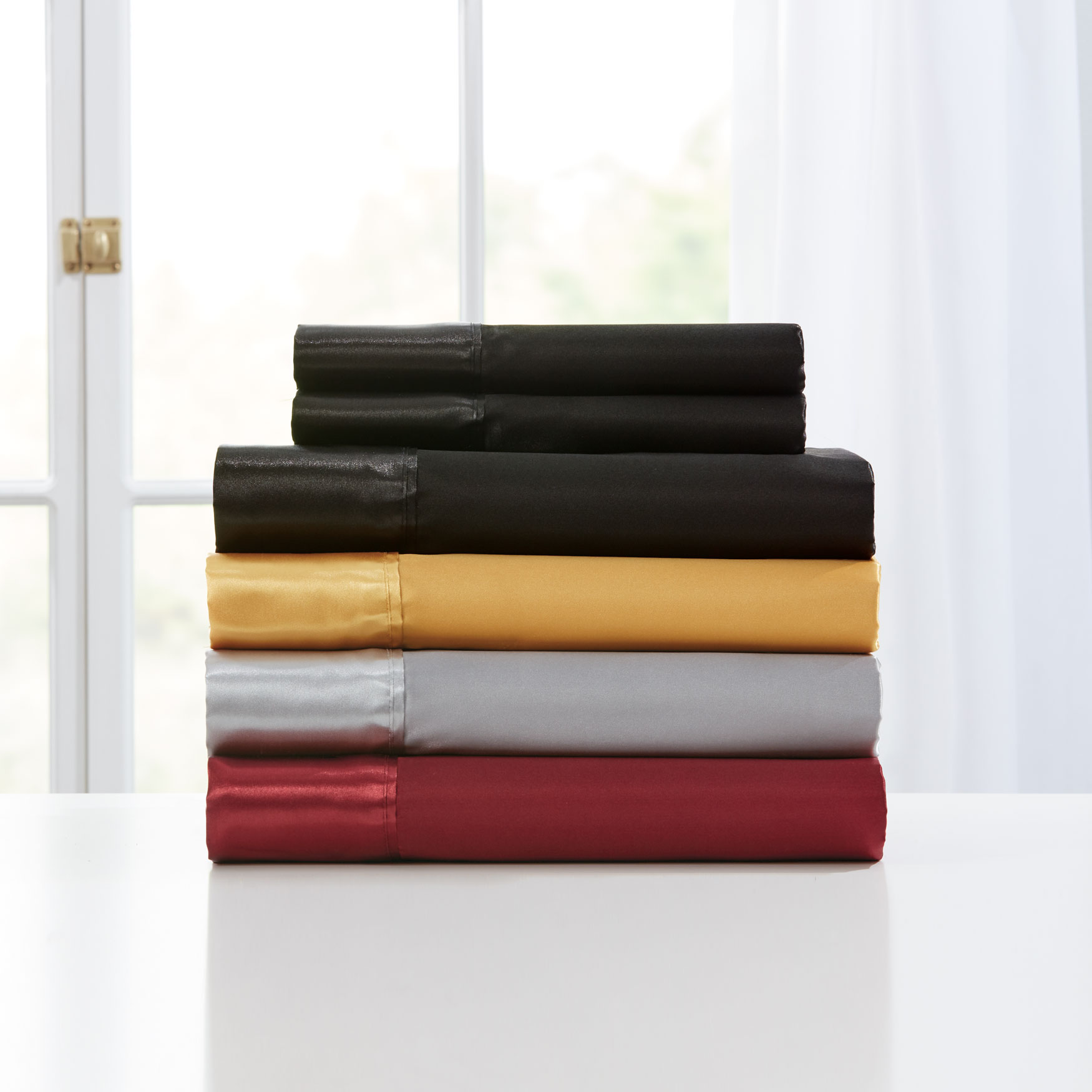 Satin Bed Tite™ 300-TC Sheet Set,