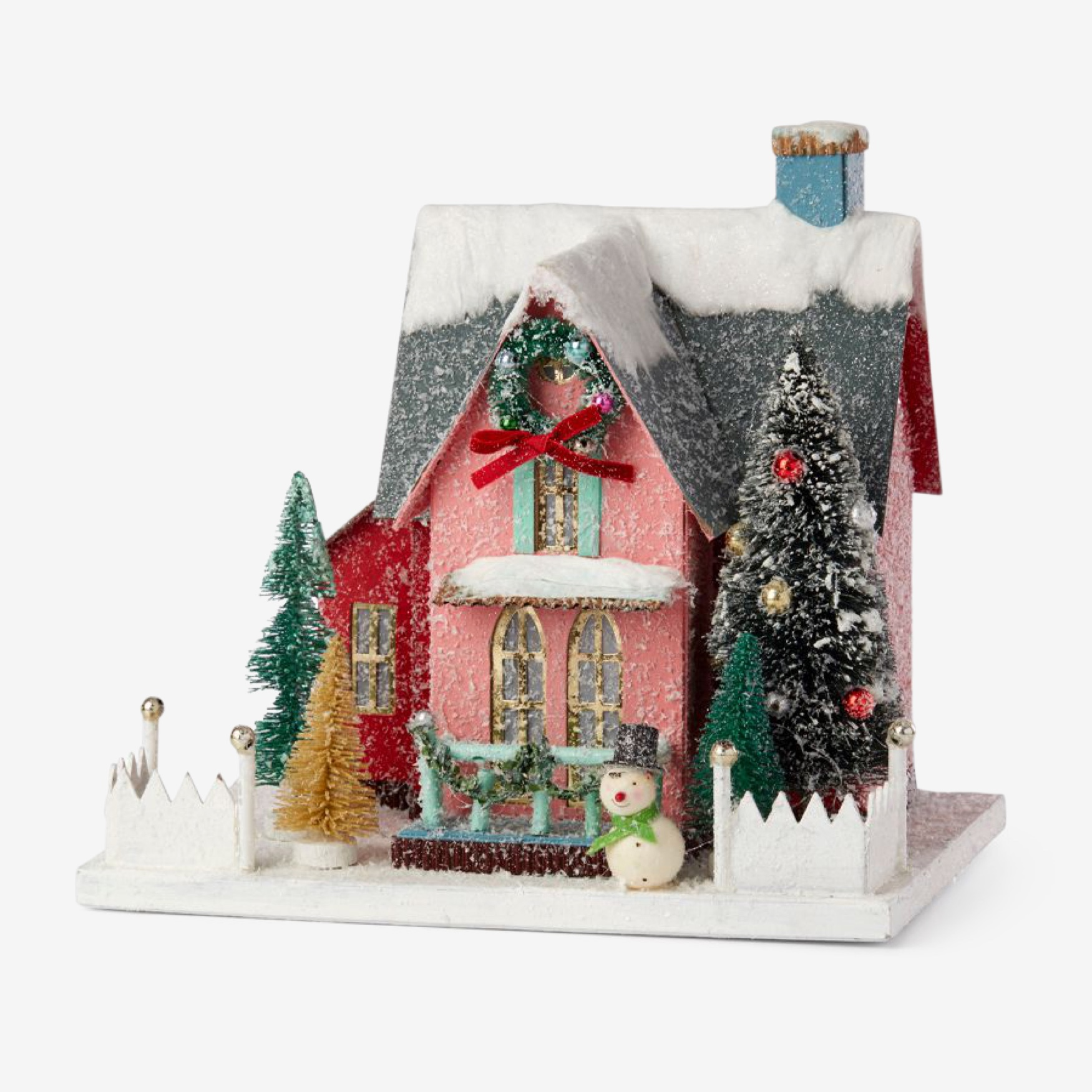 Lenox® Holiday Finery Cottage House | Brylane Home