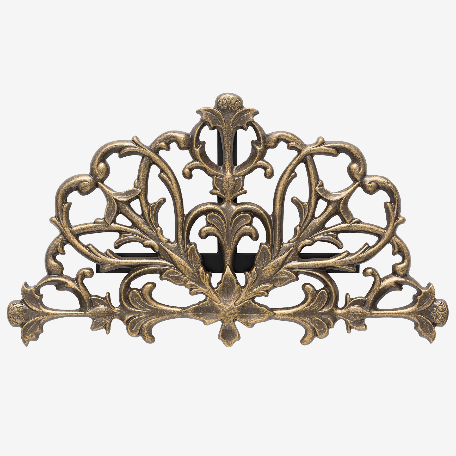 Filigree Hose Holder, FRENCH BRONZE