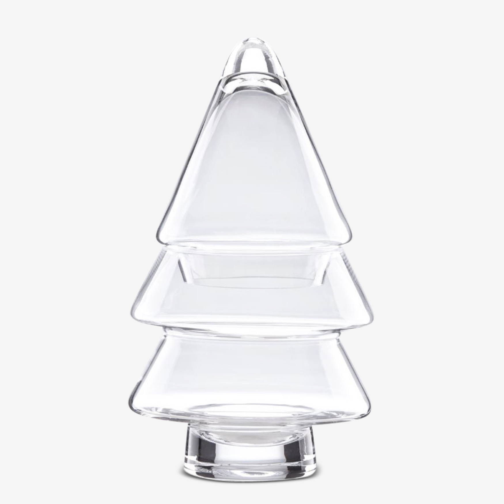 Lenox® Small 2-Tier Glass Topiary, CLEAR
