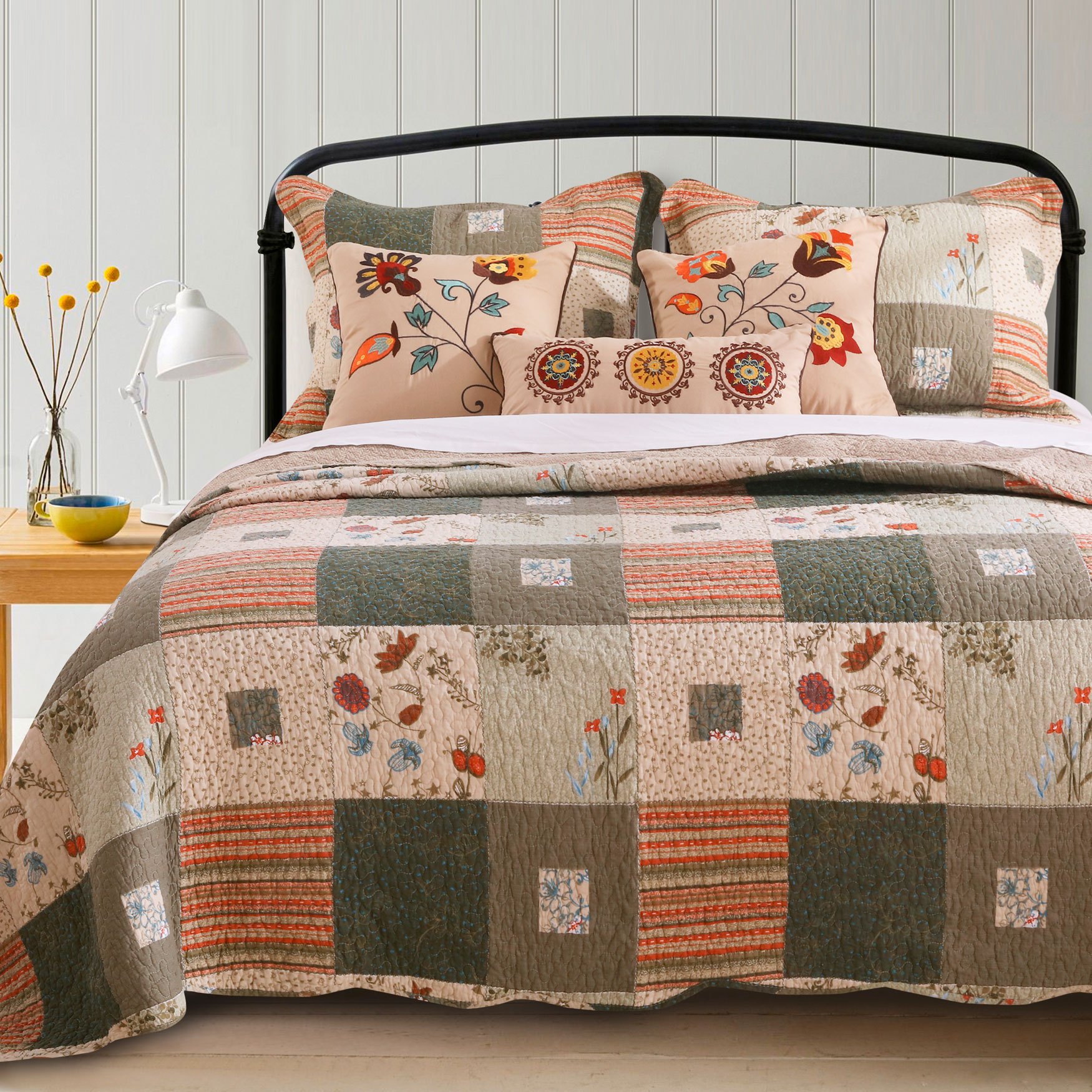 Sedona Bonus Quilt Set by Greenland Home Fashions,