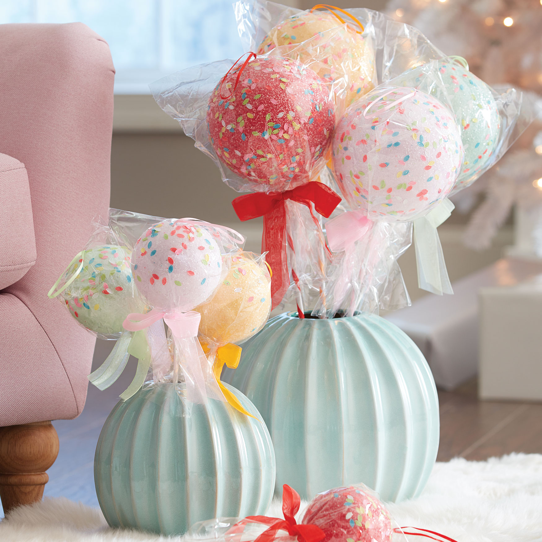 Small Lollipops, Set of 4,