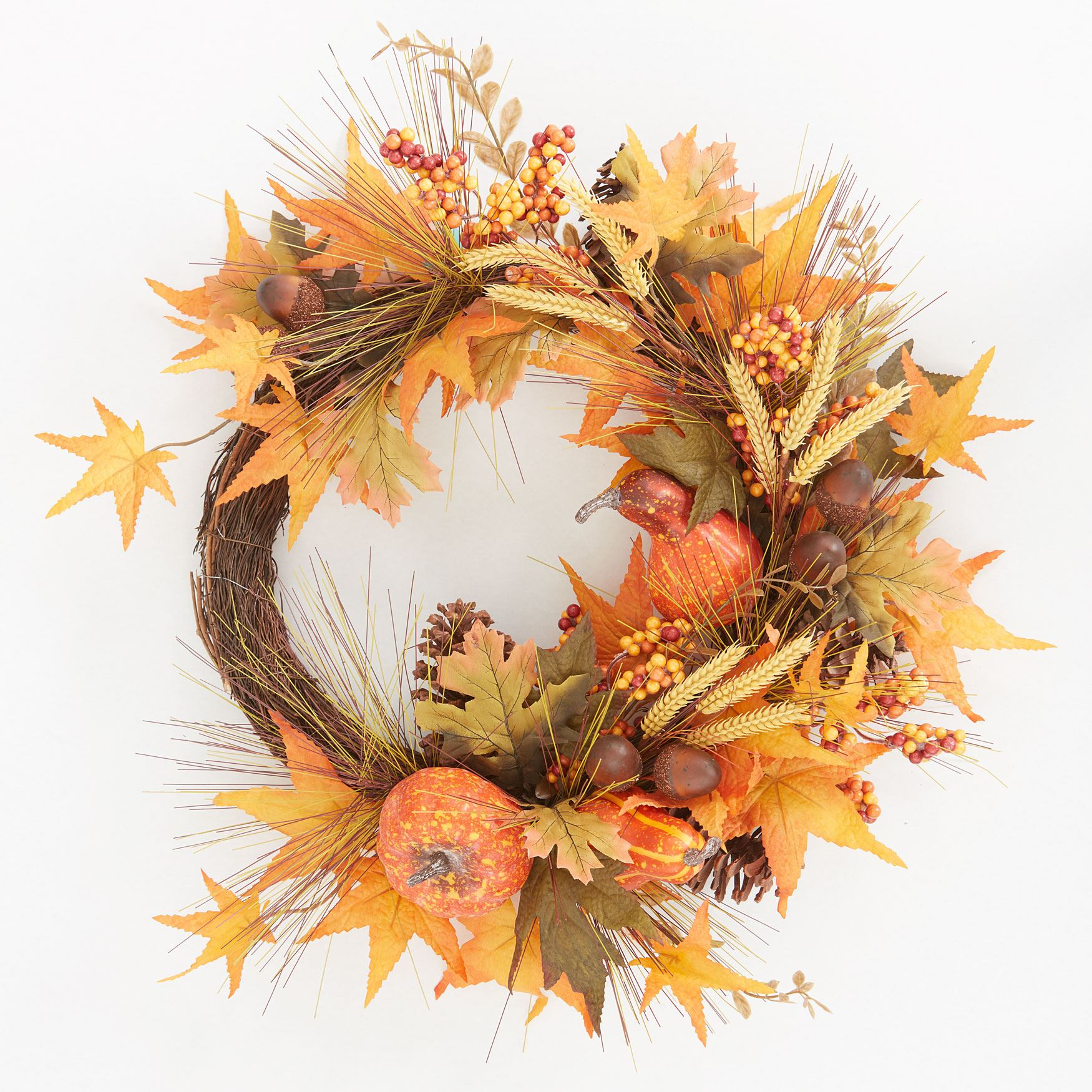 Harvest Wheat Wreath,