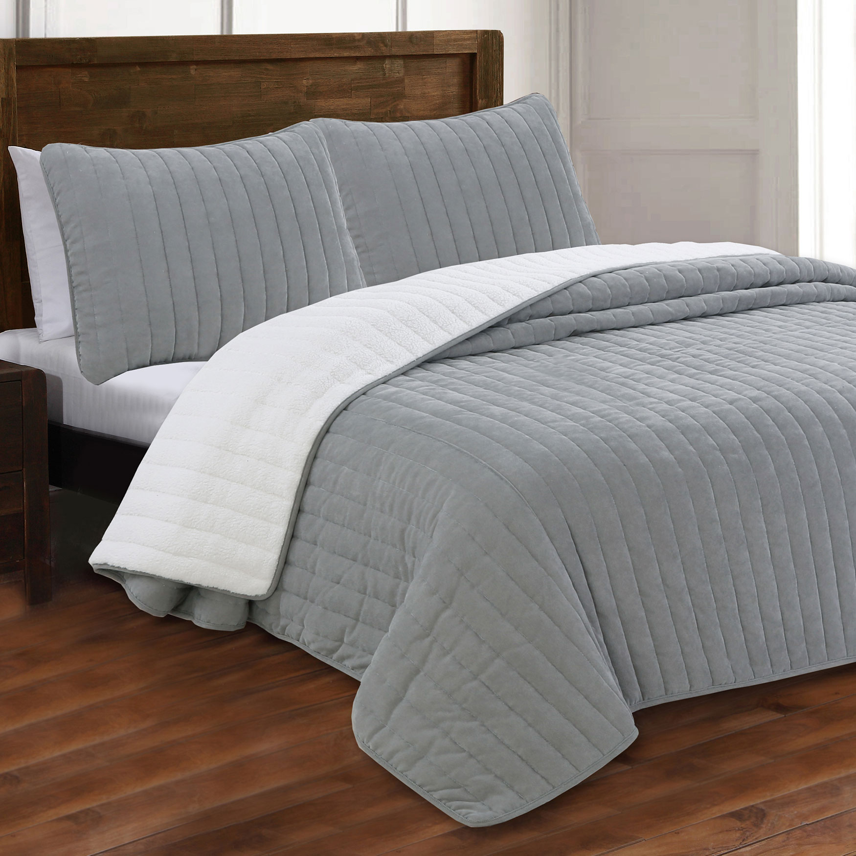 Estate Collection Caleb Corduroy Quilt Set,
