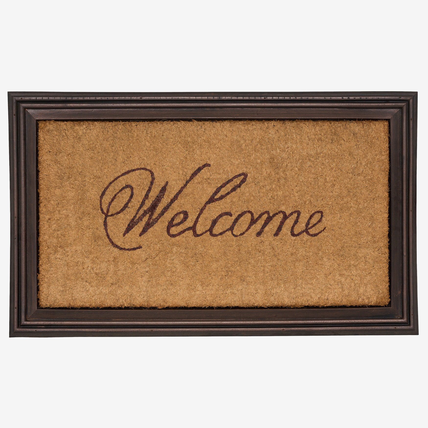 Essex Coir Welcome Mat, COIR