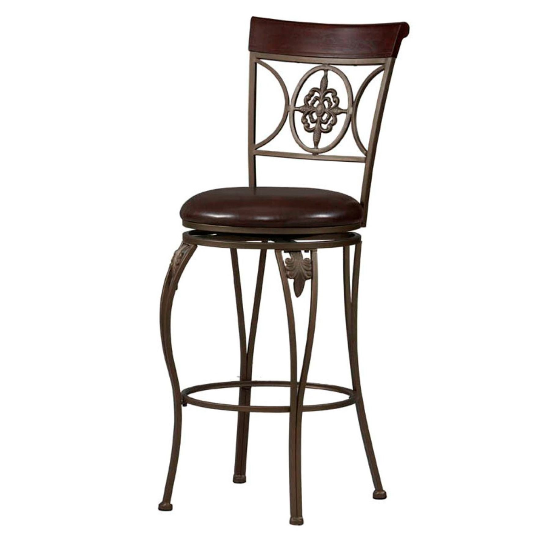 Fleur De Lis Counter & Bar Stool,