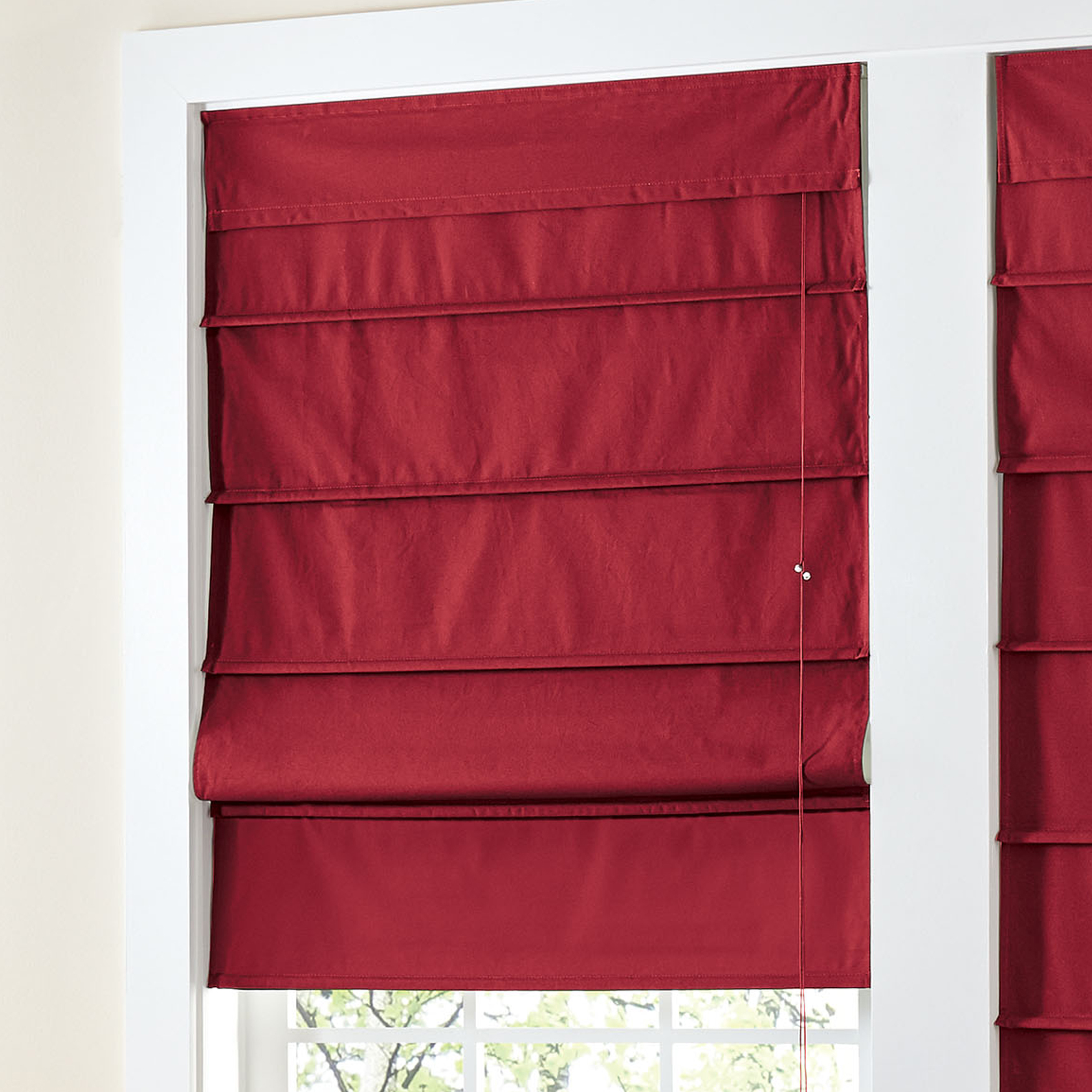 BrylaneHome® Studio Canvas Roman Shade,