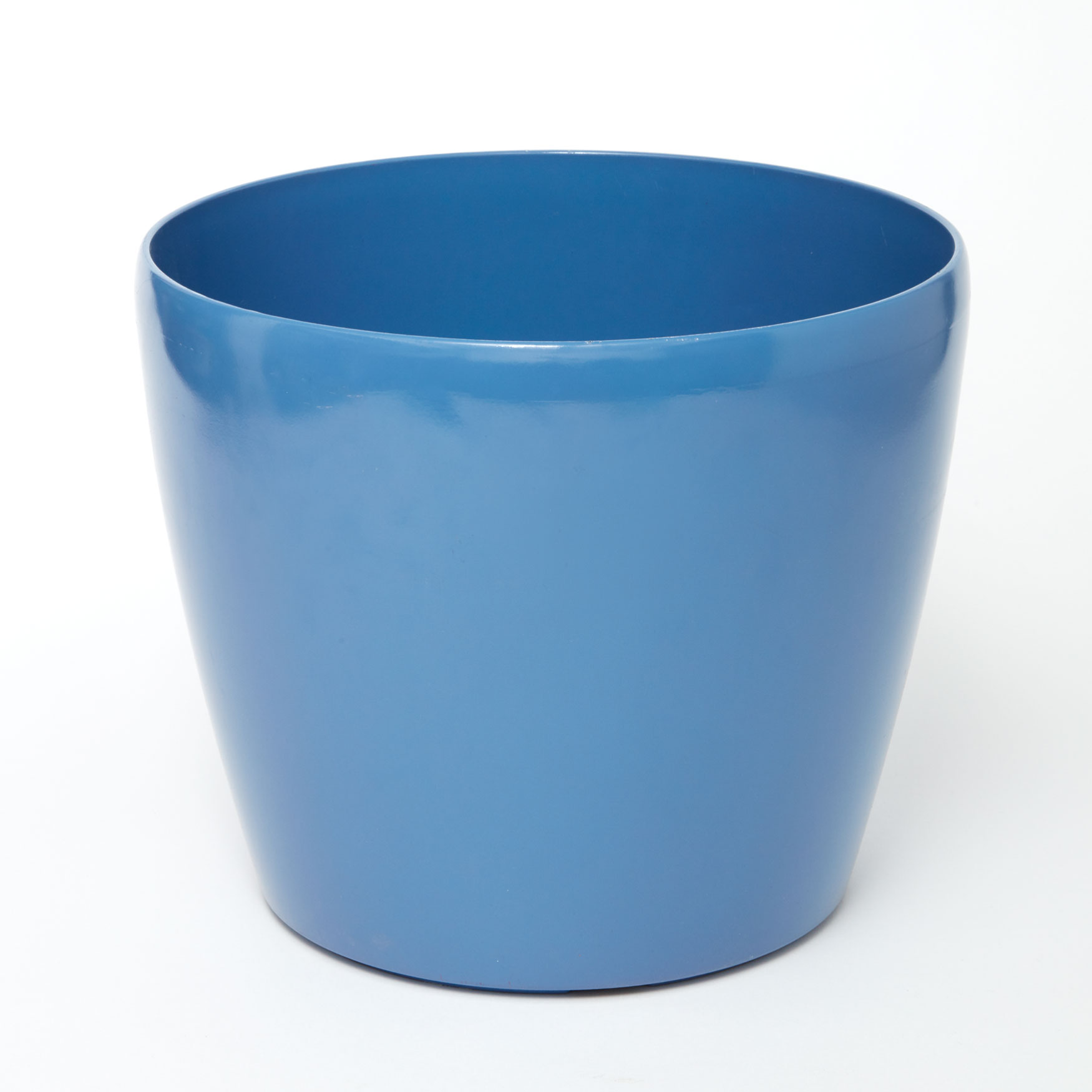 Short Self-Watering Planter, POOL BLUE