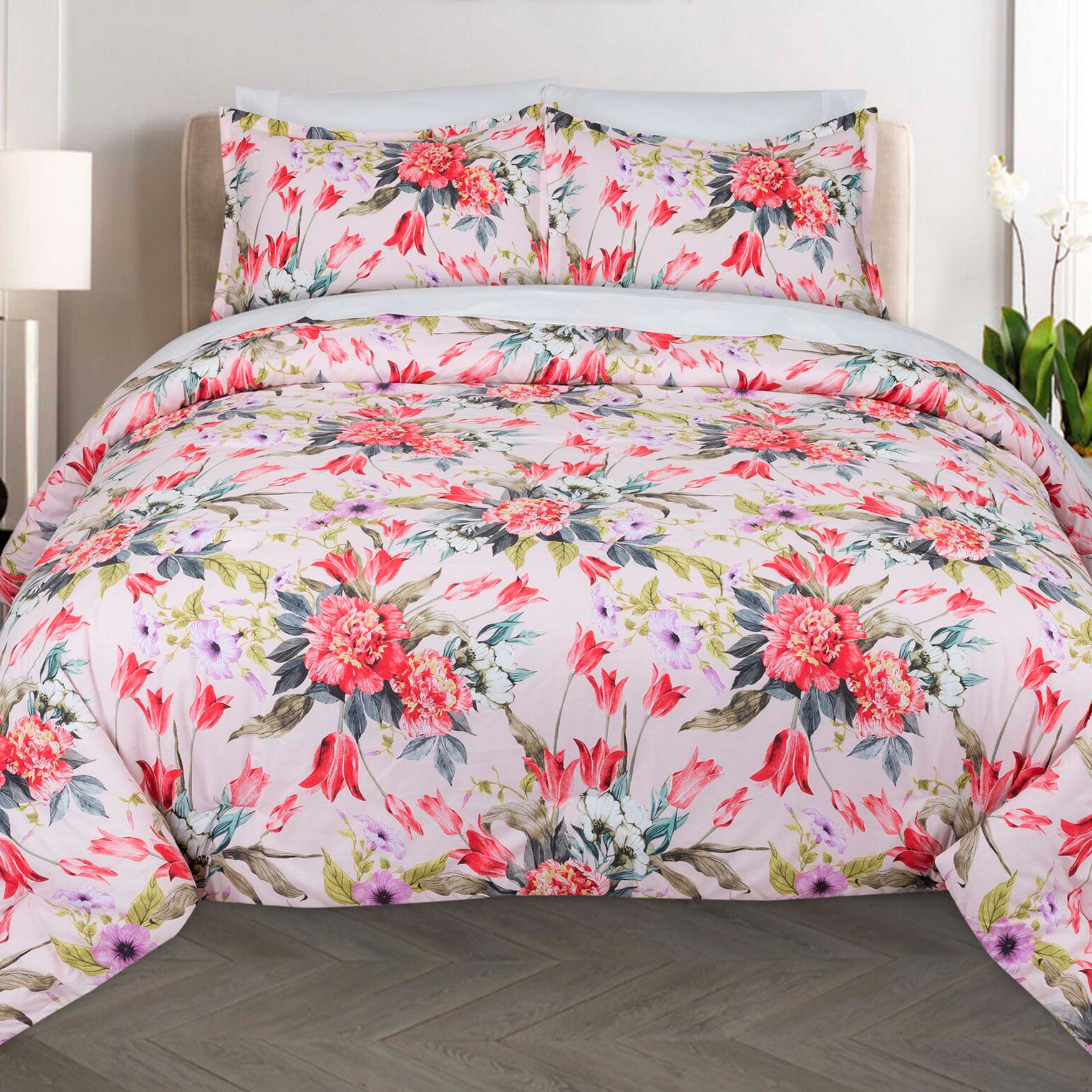 Bouquet Comforter Set,
