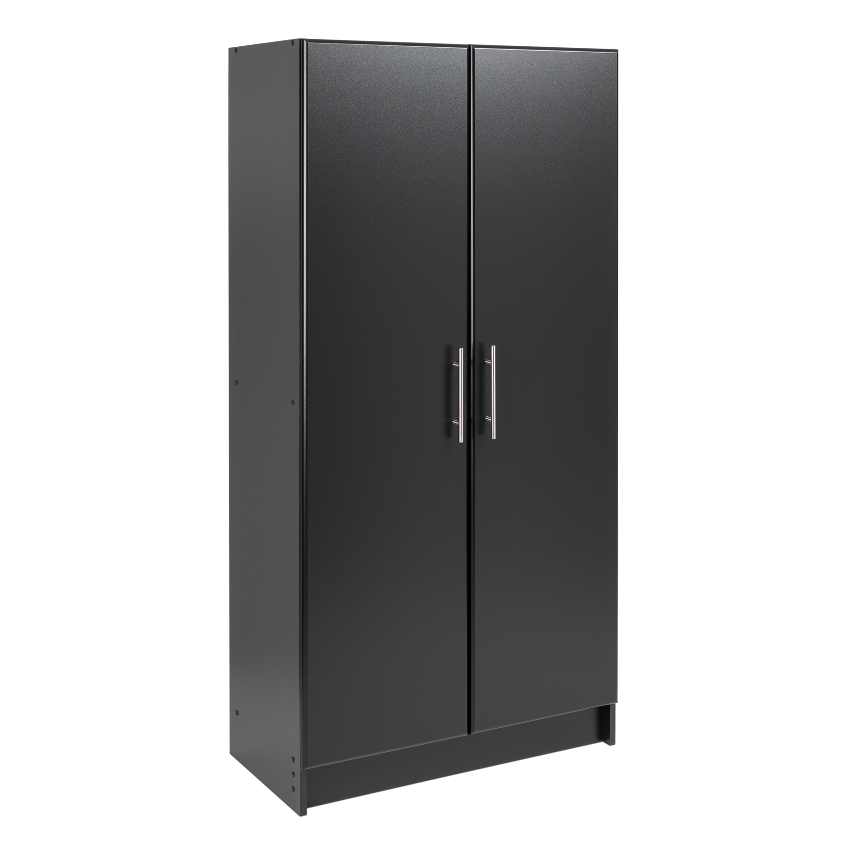 "Elite 32"" Storage Cabinet, Black, BLACK"
