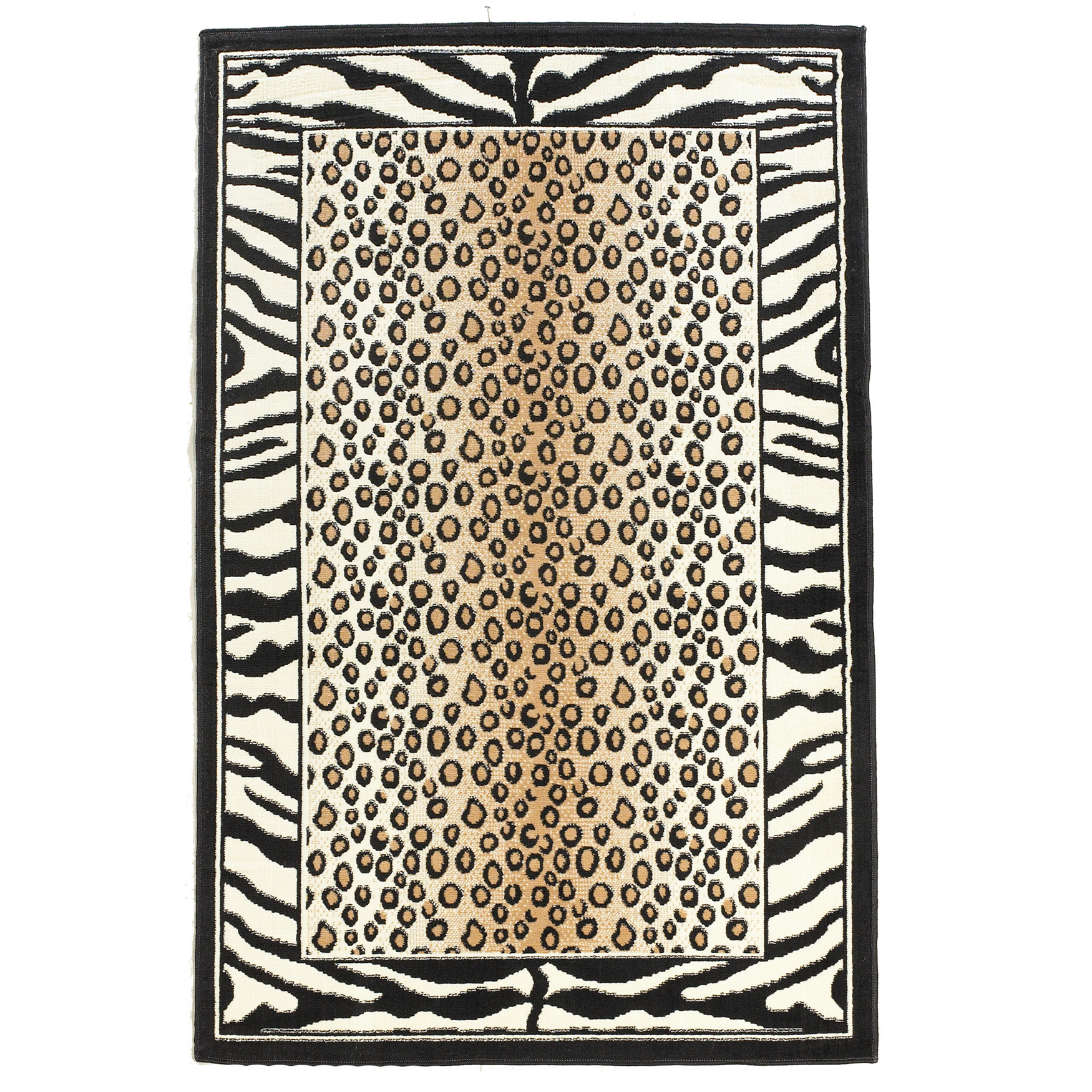 Capri Animal 5' x 7' Area Rug, ANIMAL