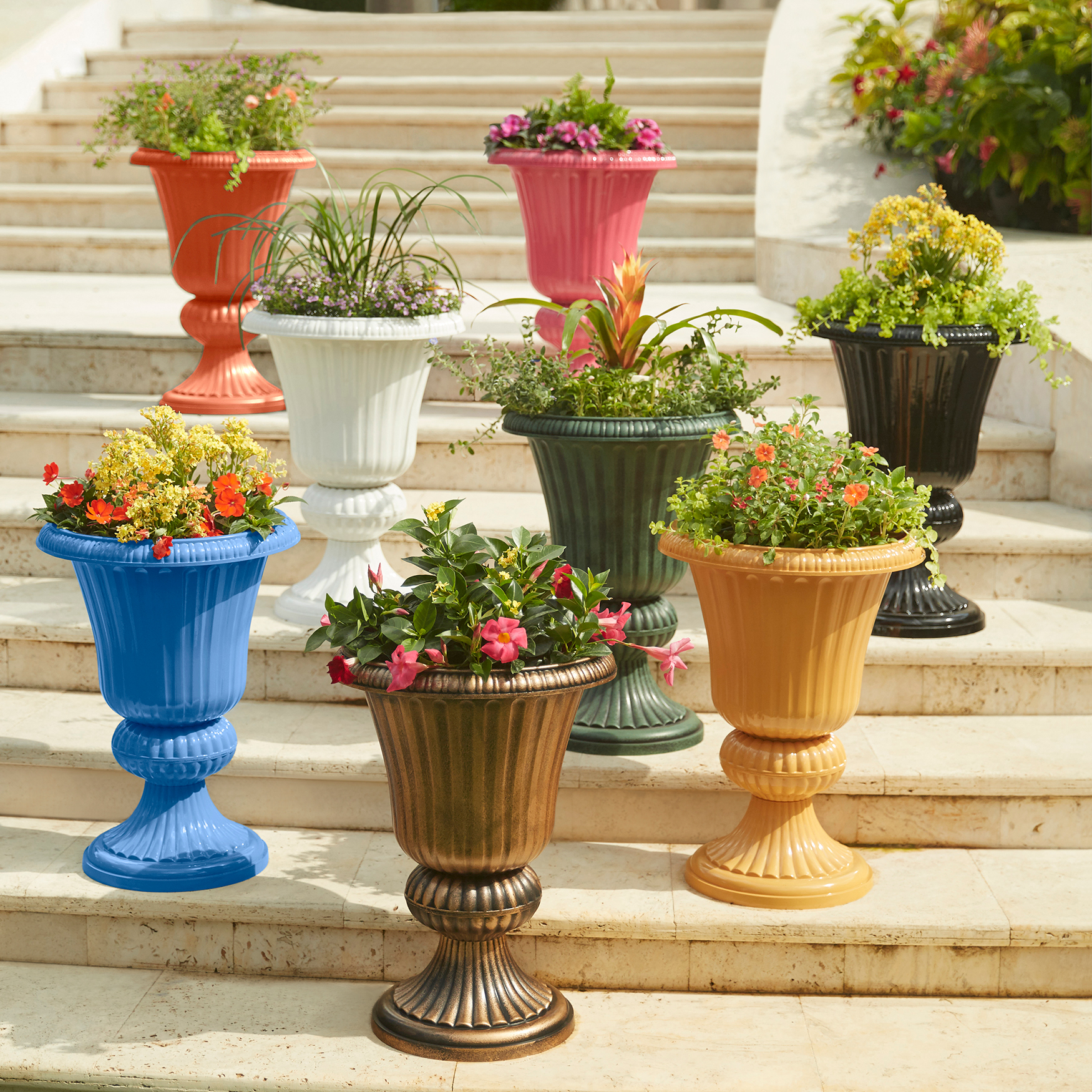 Embry Resin Planter Urn,