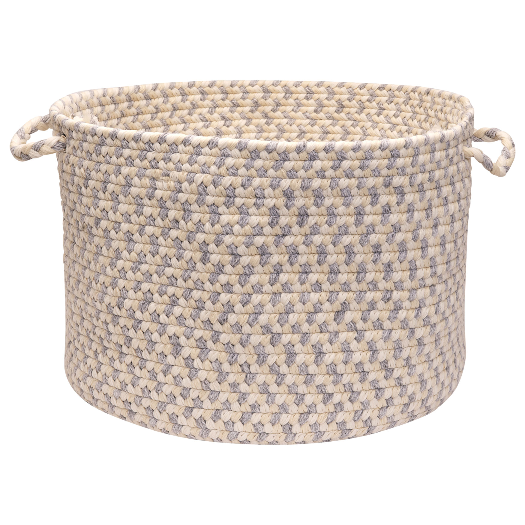 Stone Harbor Grey Stone Basket,
