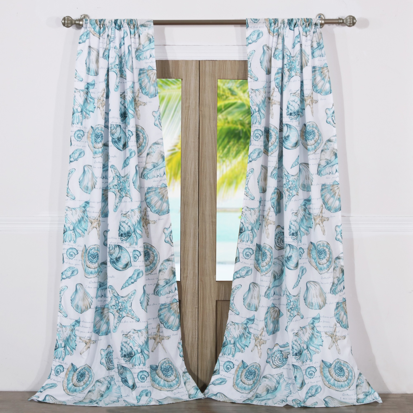 Cruz Curtain Panel Pair by Barefoot Bungalow,