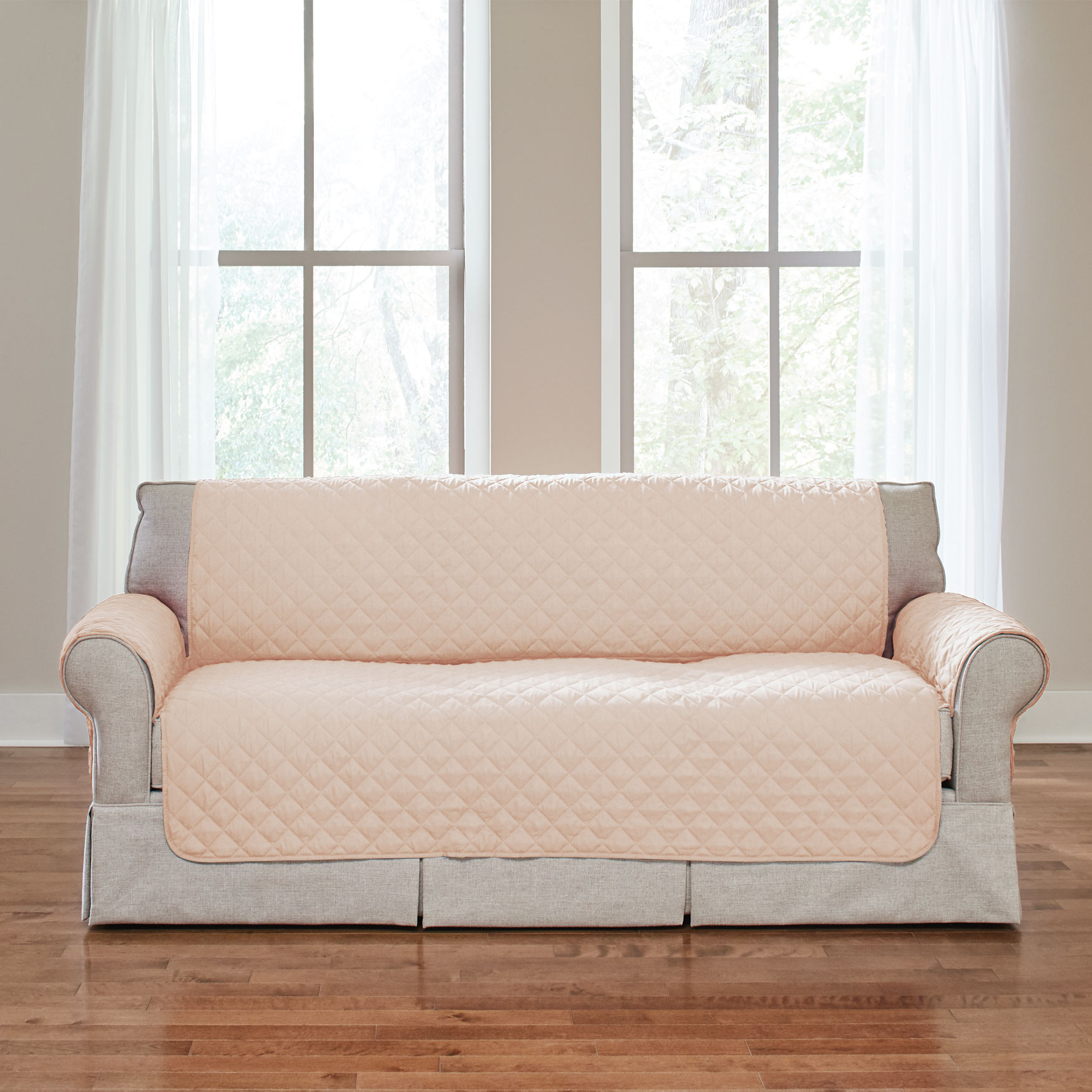 BH Studio Water-Repellent Microfiber Sofa Protector,