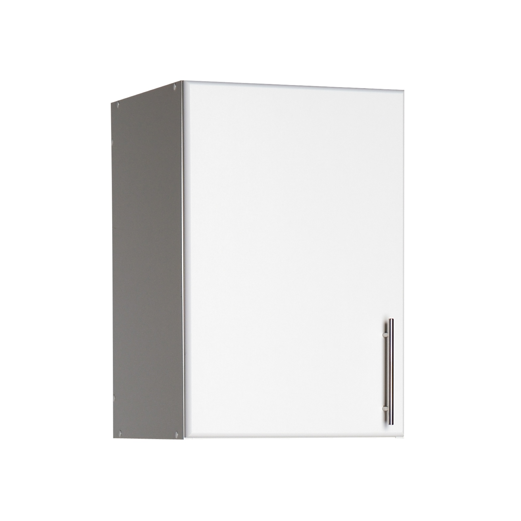 "Elite 16"" Stackable Wall Cabinet, White, WHITE"