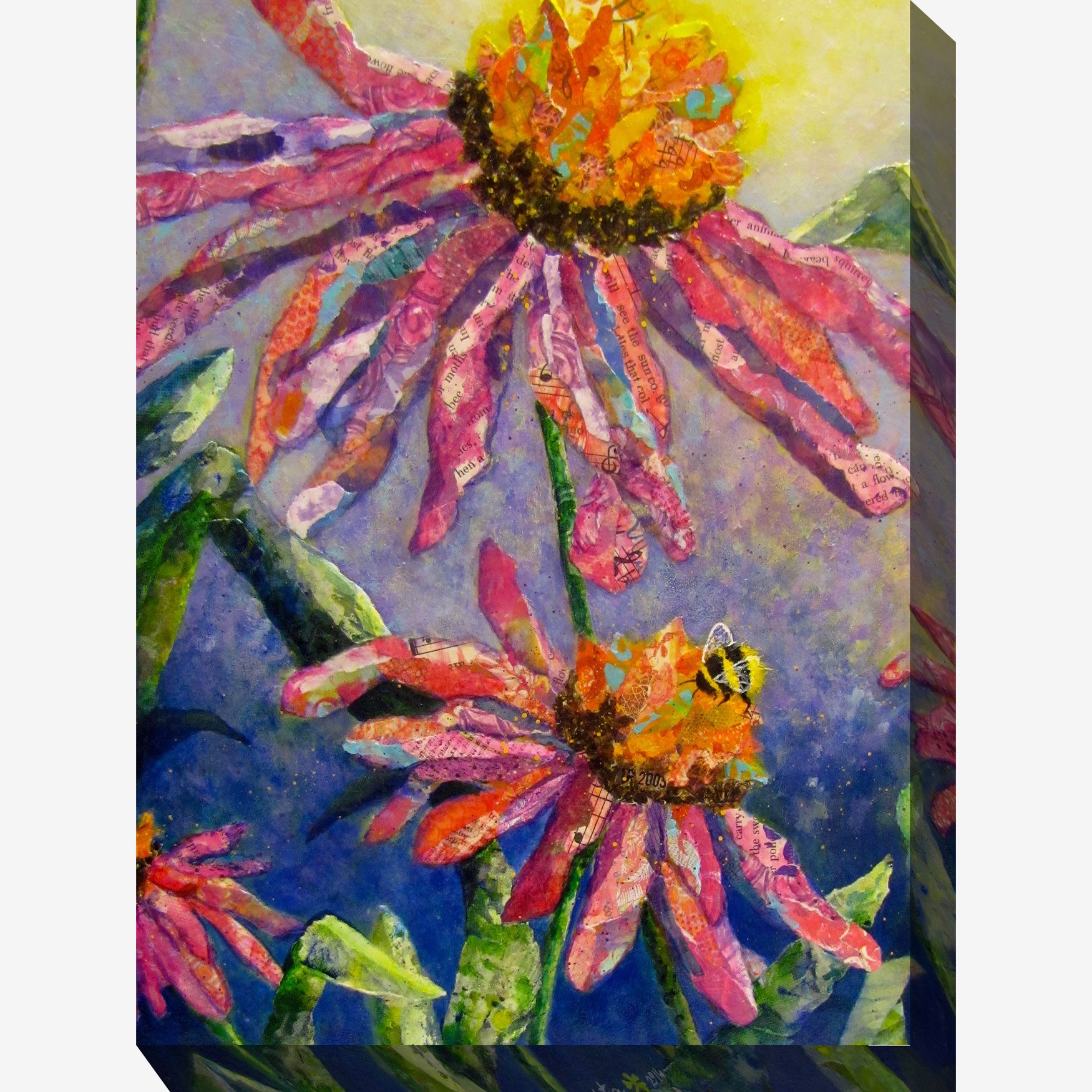 Busy Bee Wall Art, MULTI