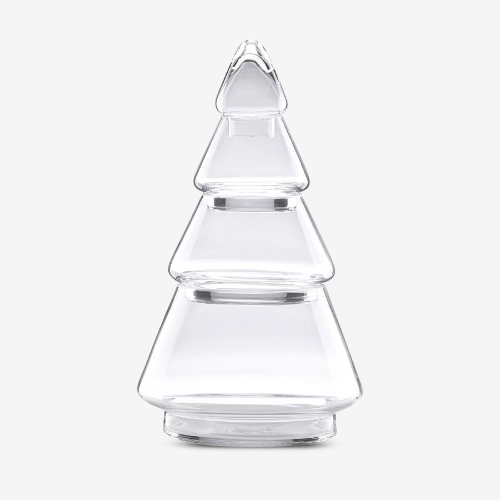 Lenox® Large 4-Tier Glass Topiary, CLEAR