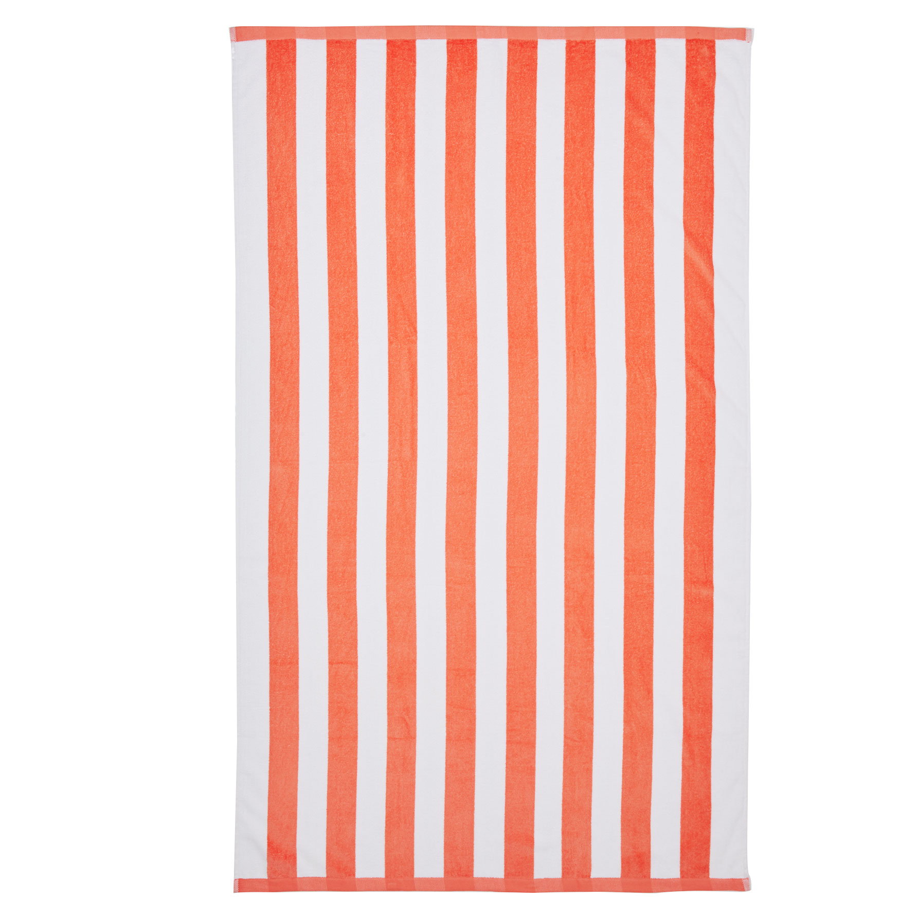 Cabana Striped Beach Towel, PEACH