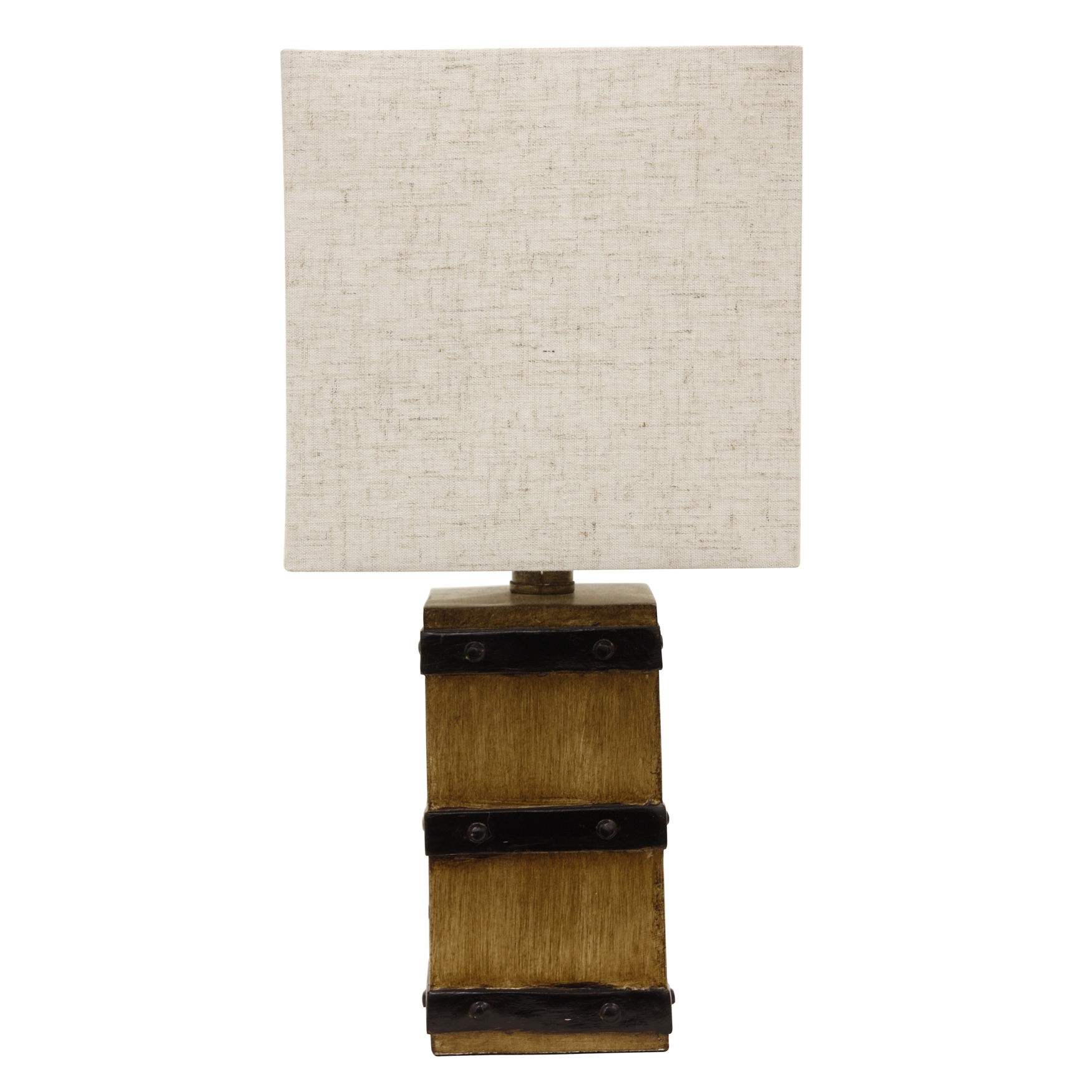 Square Barrel Accent Lamp, SQUARE
