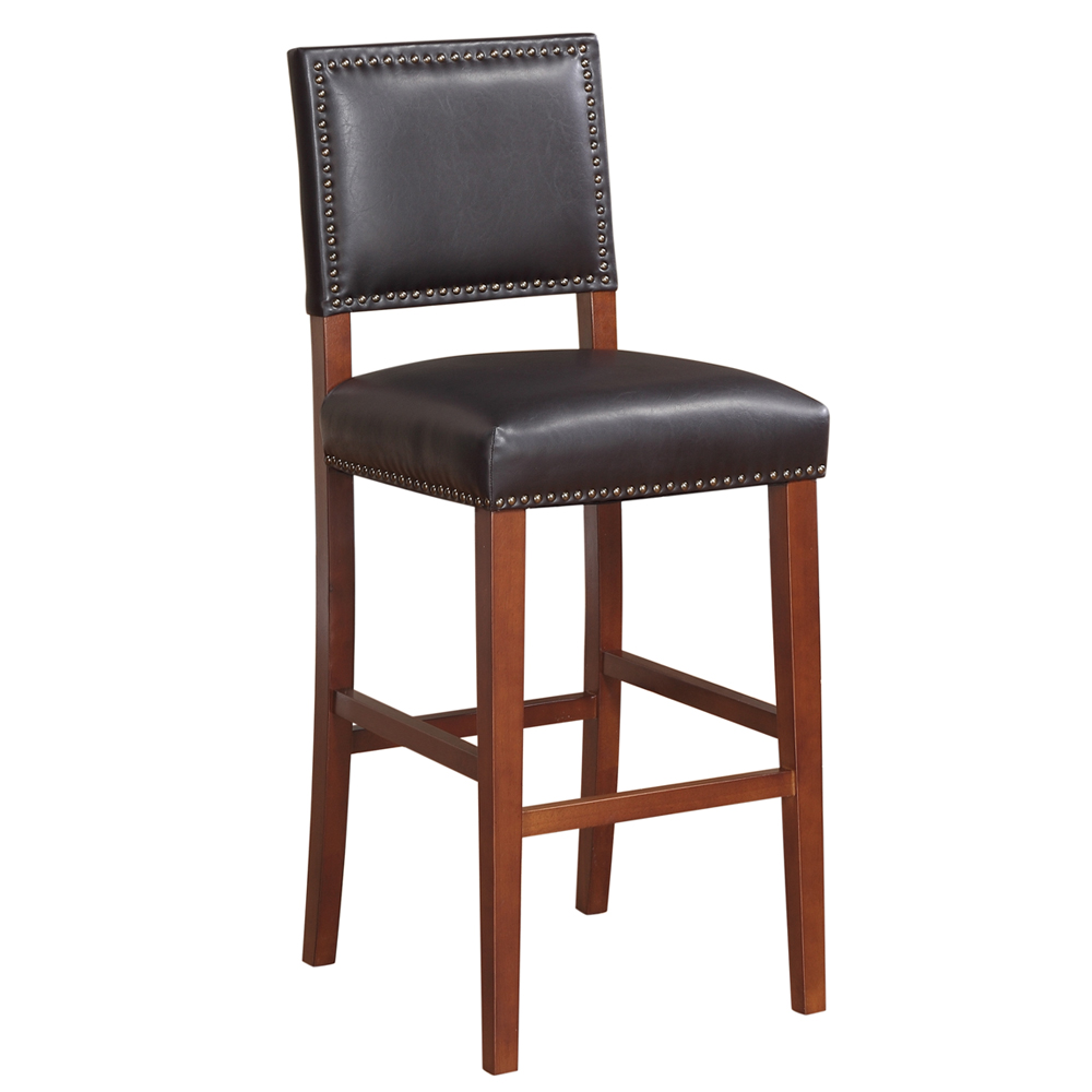 "Brook Bar Stool 30""H, BLACK"