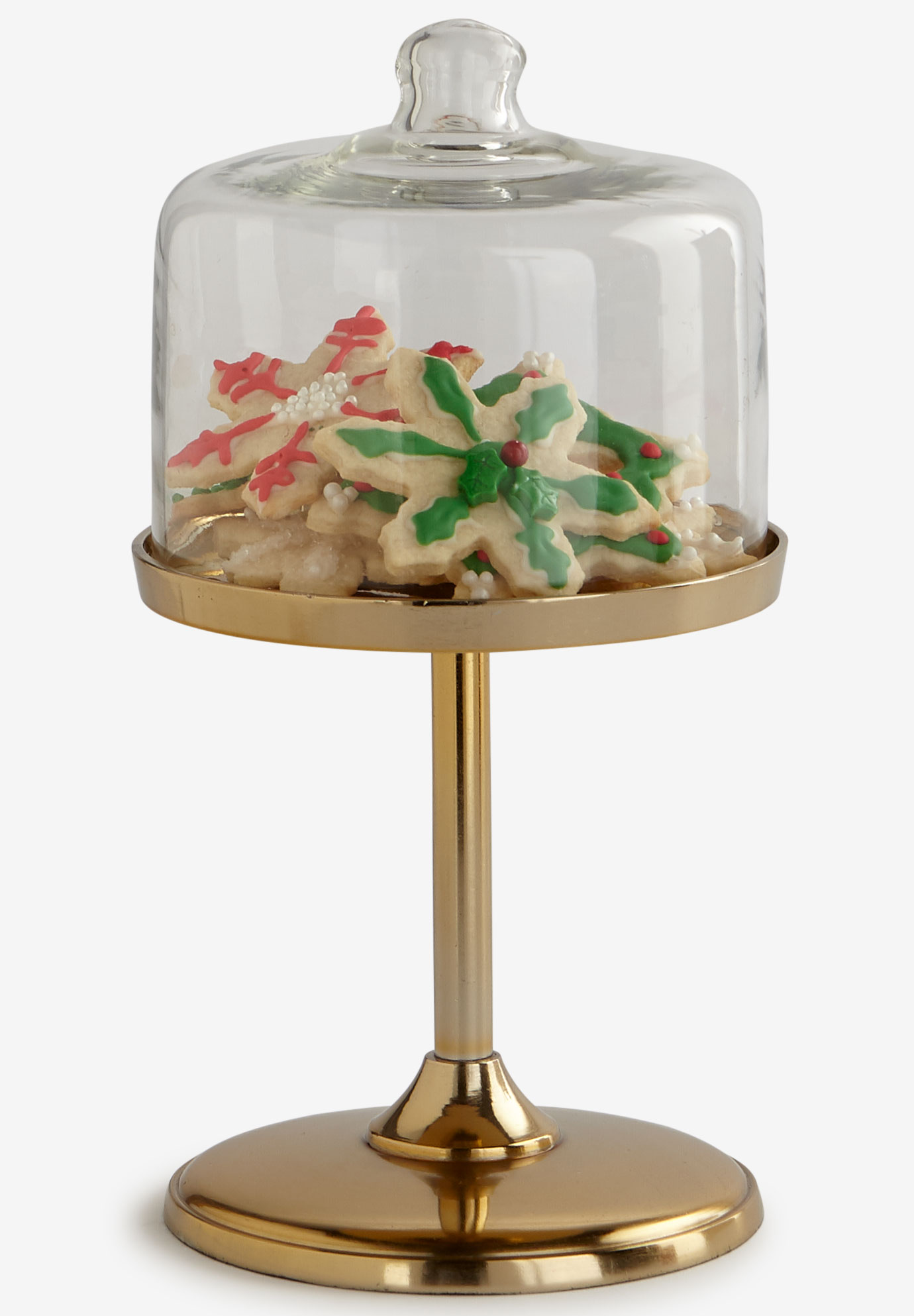 Small Gold Cake Stand, GOLD