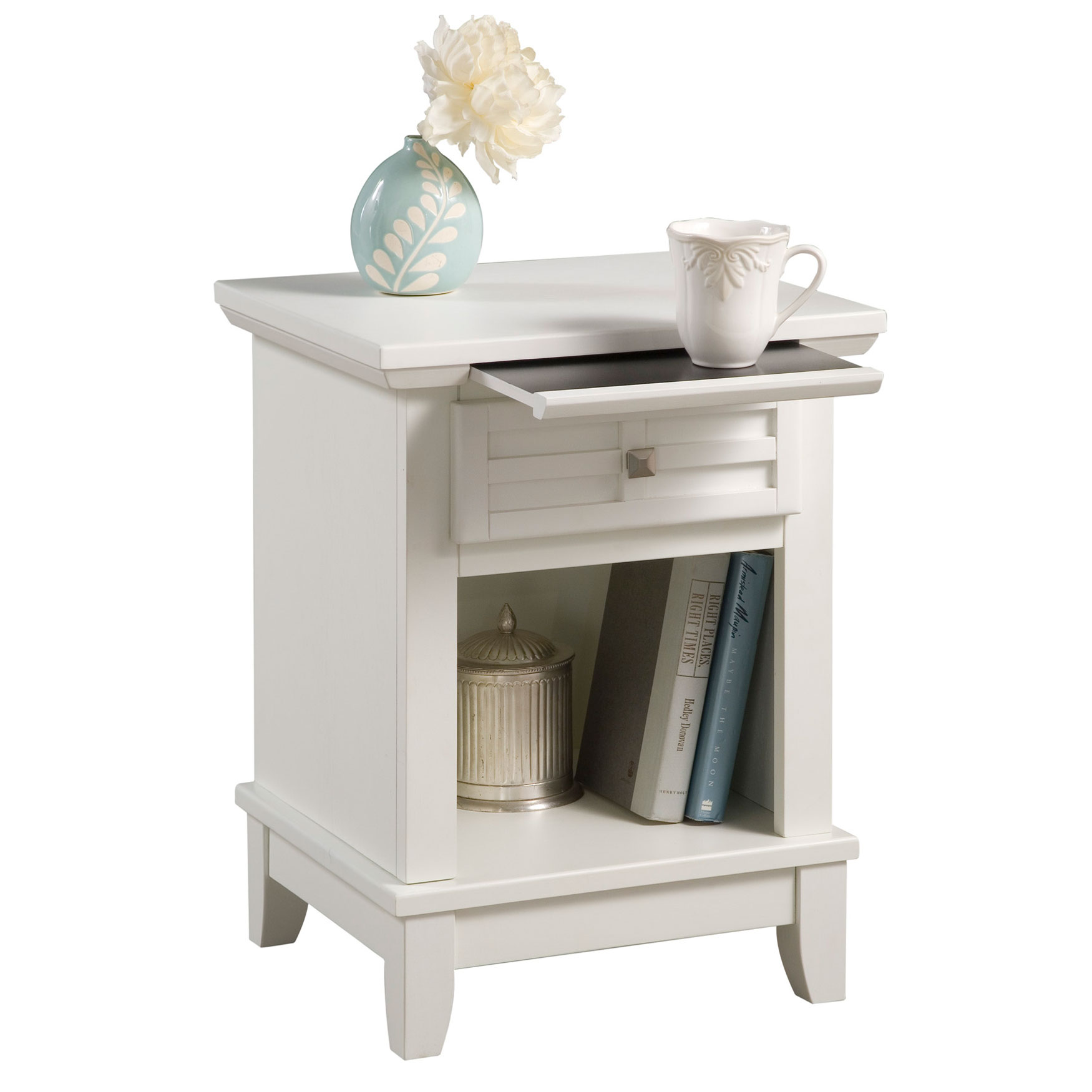 Arts & Crafts Night Stand, WHITE