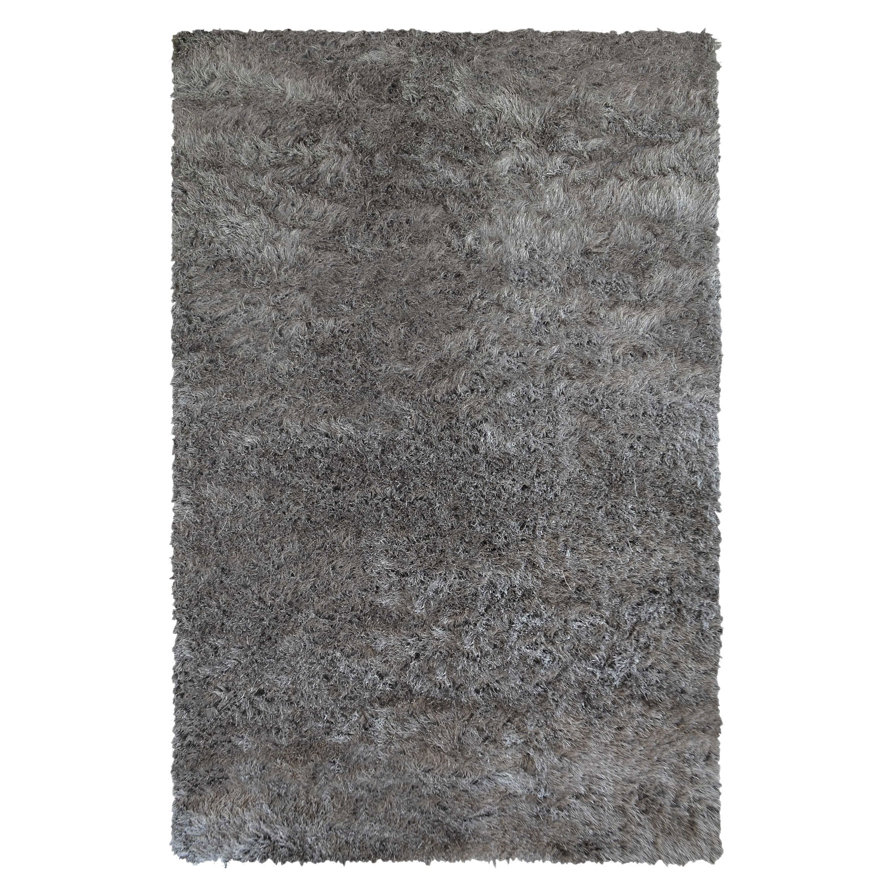 Small Soft Highpile Shag Rug,
