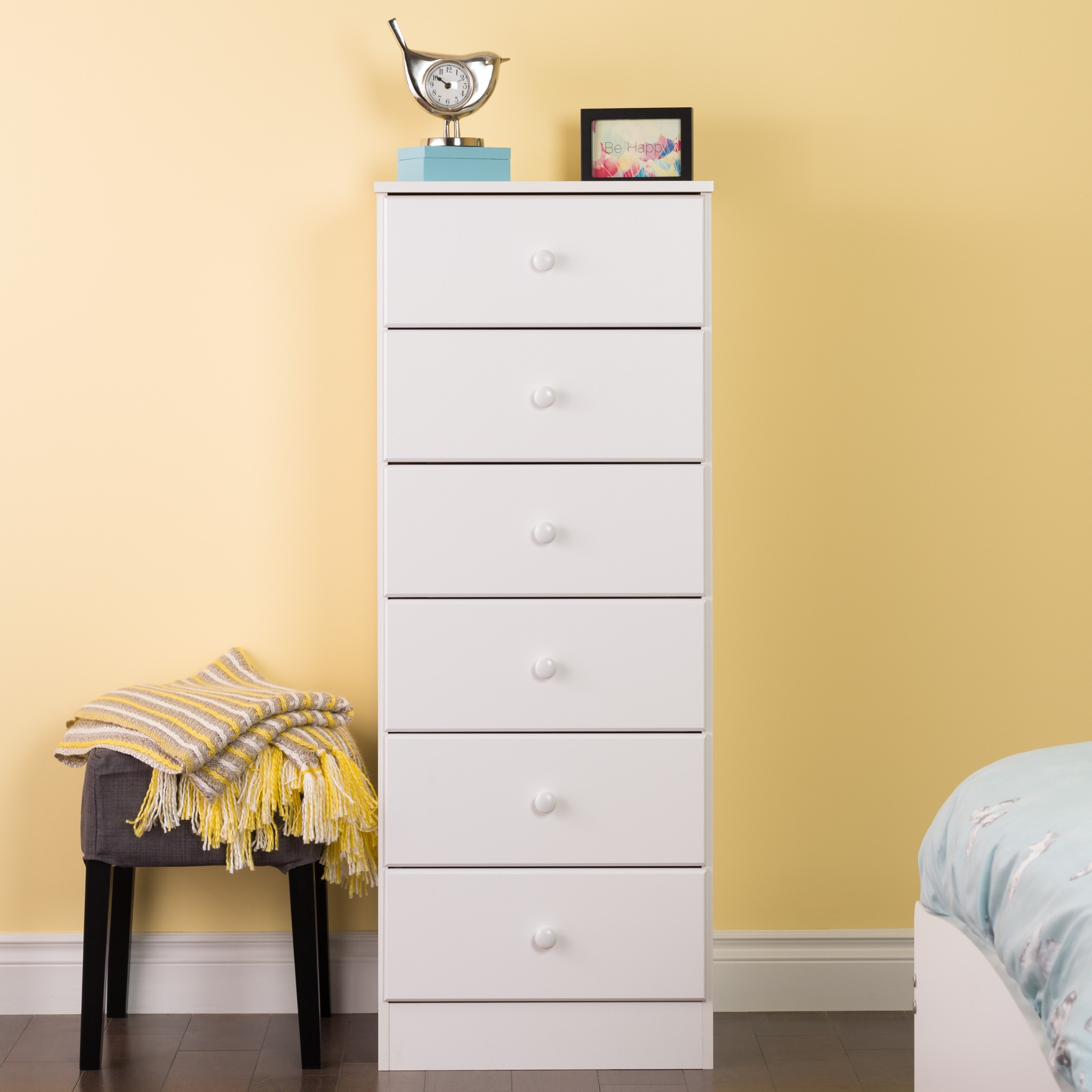 Astrid 6-Drawer Tall Chest,