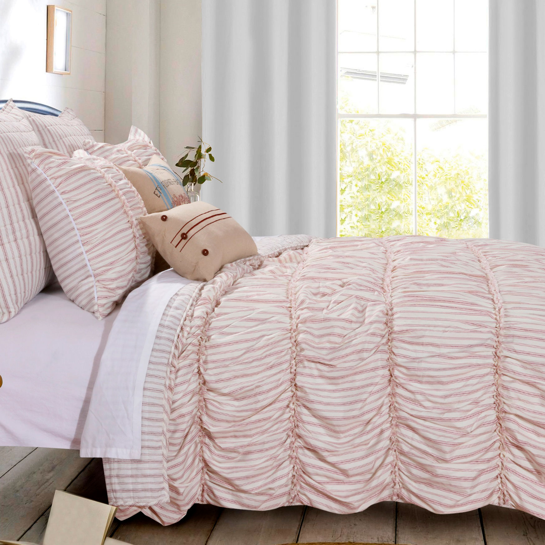 Farmhouse Chic Quilt Set ,