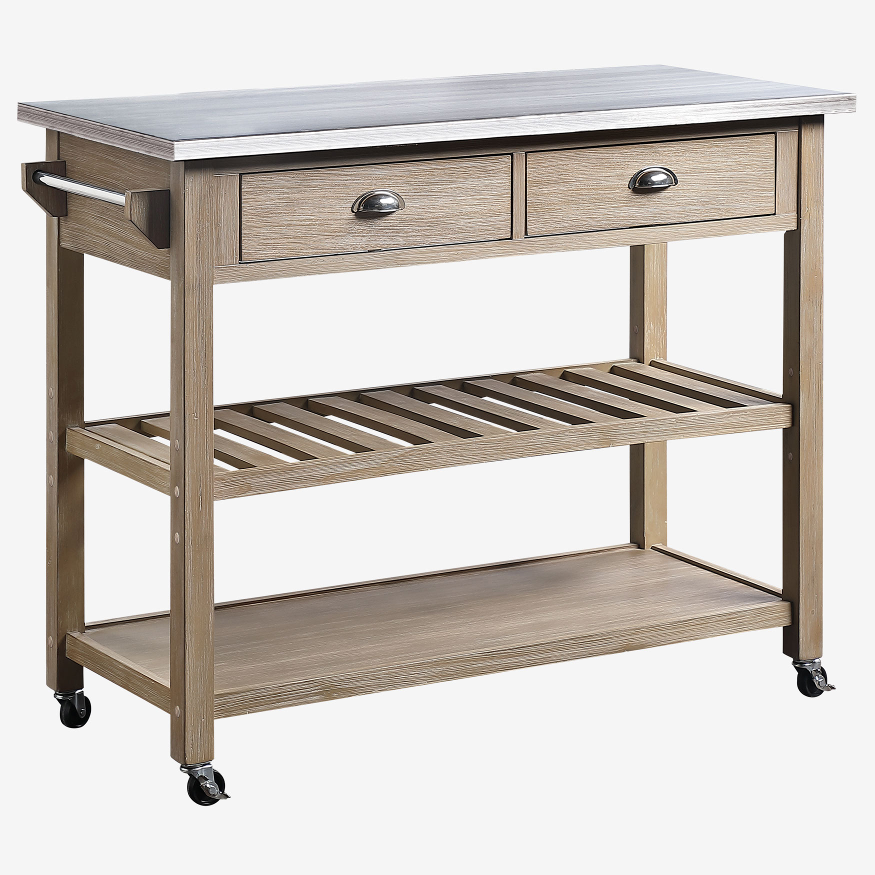 Alex Kitchen Island Cart| Kitchen Carts & Islands | Brylane Home