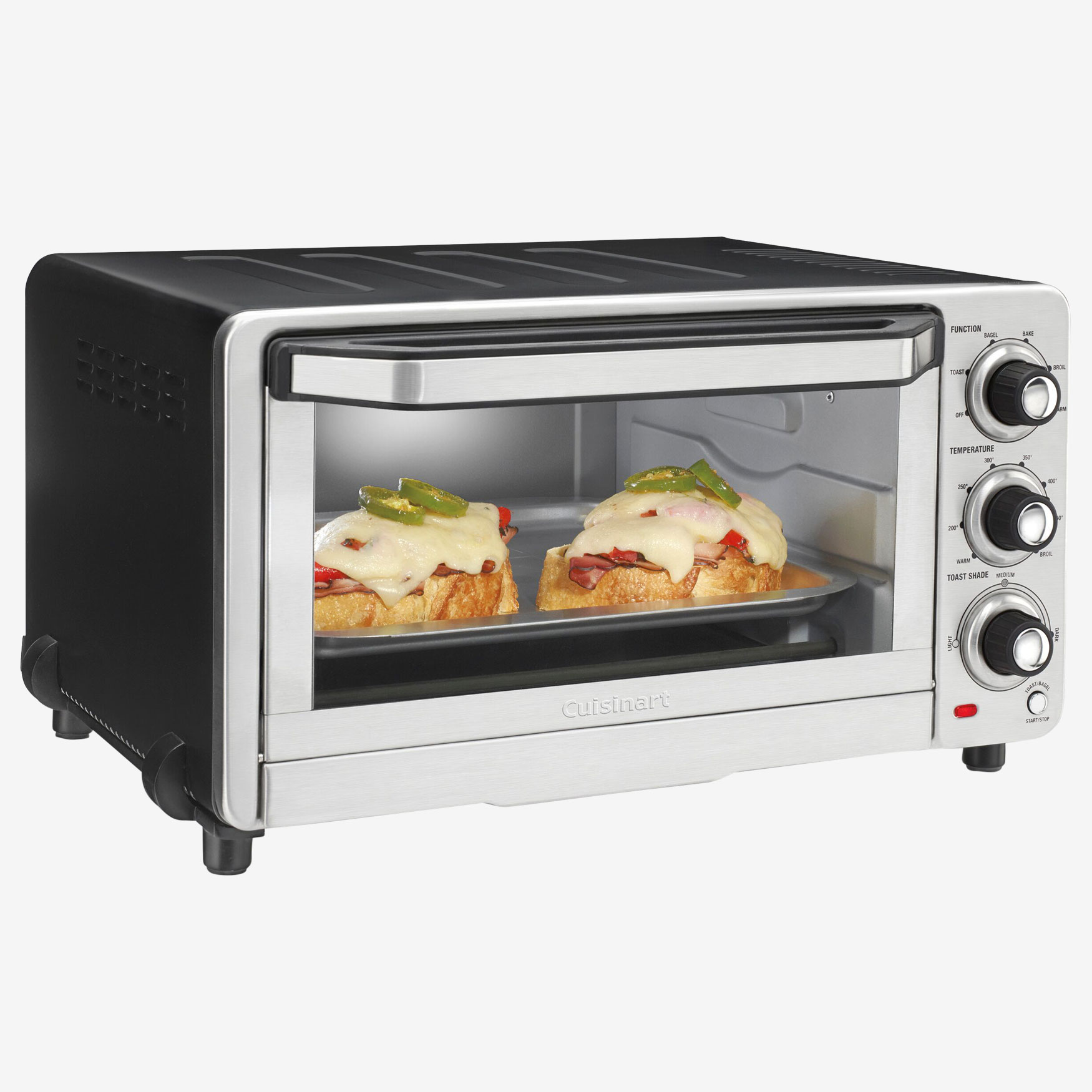Cuisinart Custom Classic Toaster Oven/Broiler, SILVER