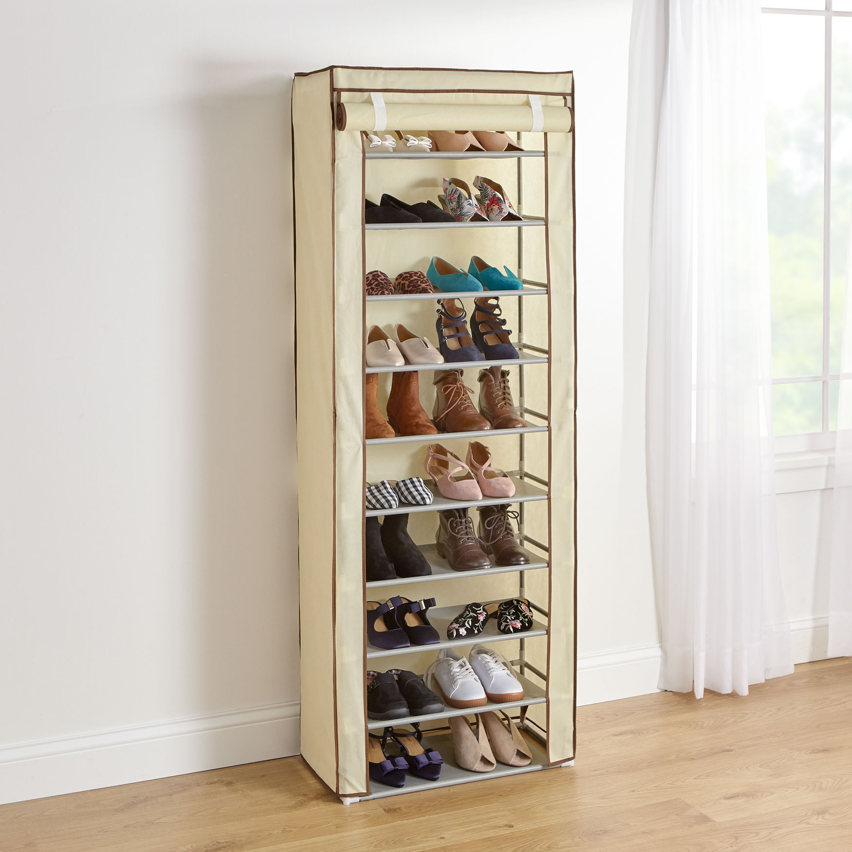 Eve Single Shoe Rack, NATURAL