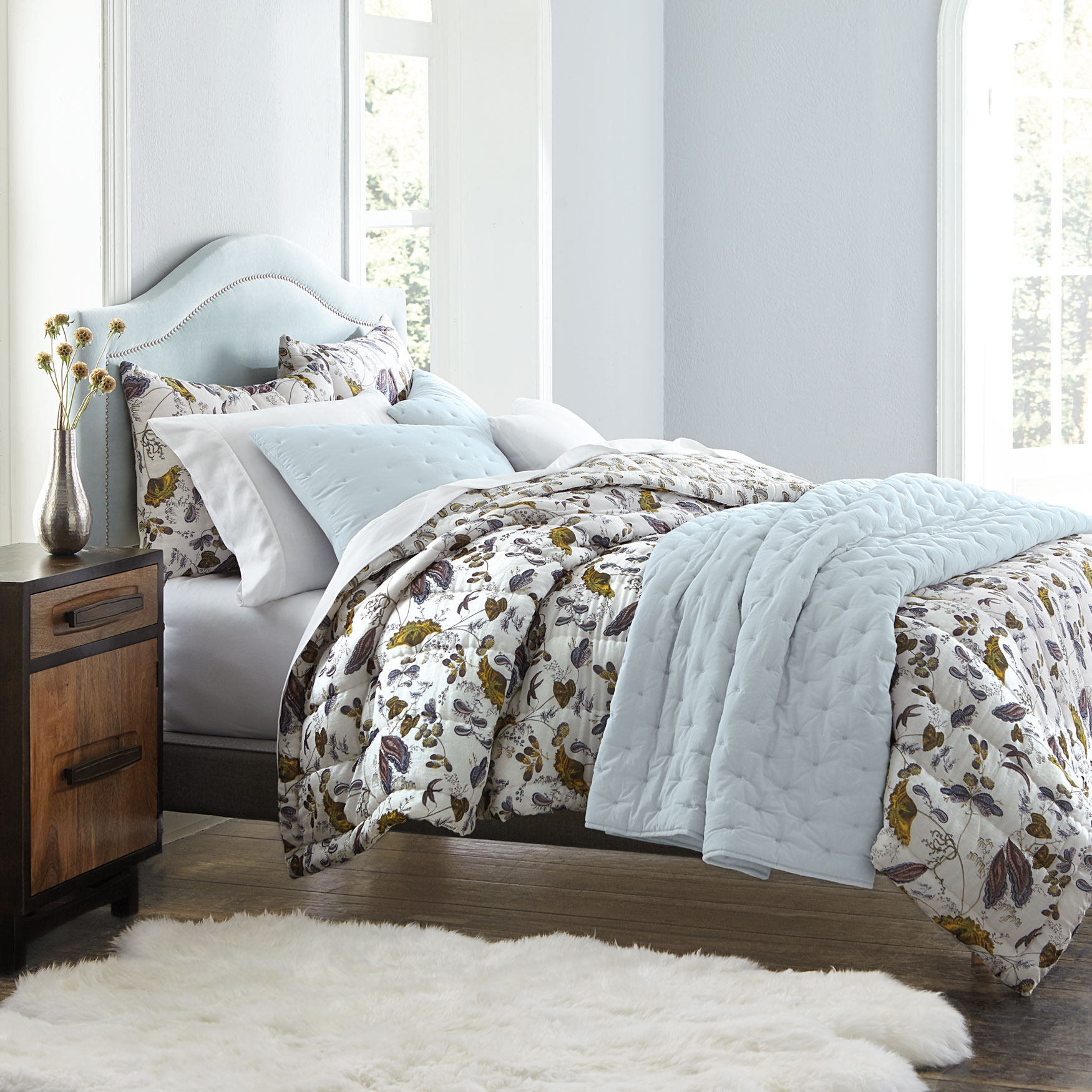 Emmaline Botanical Quilt Collection,