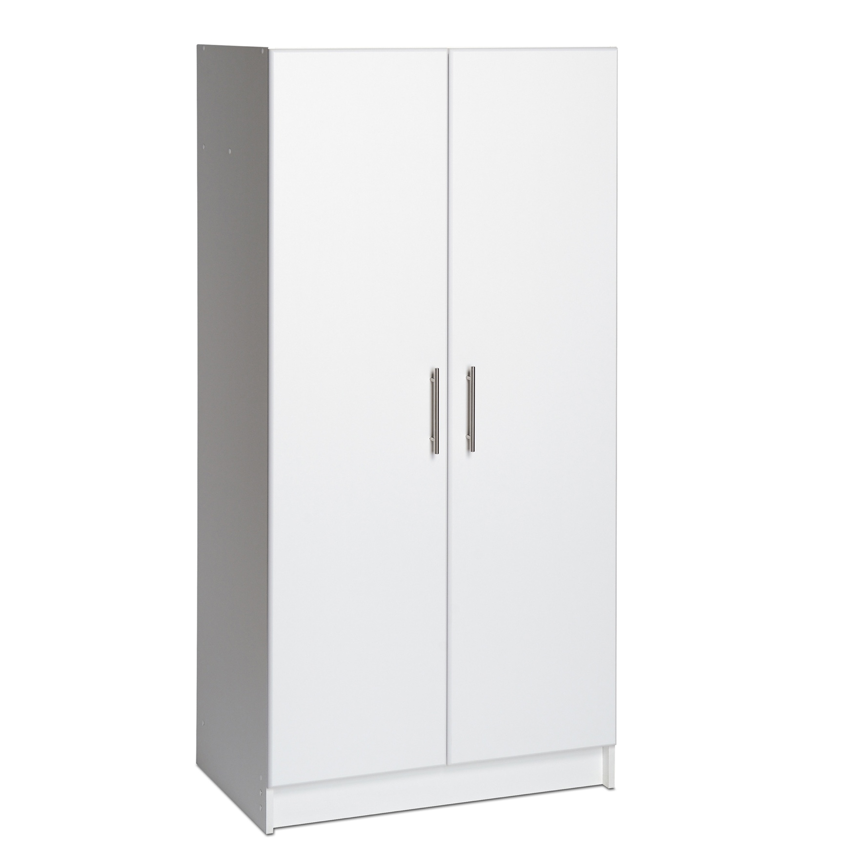 "Elite 32"" Storage Cabinet, White, WHITE"