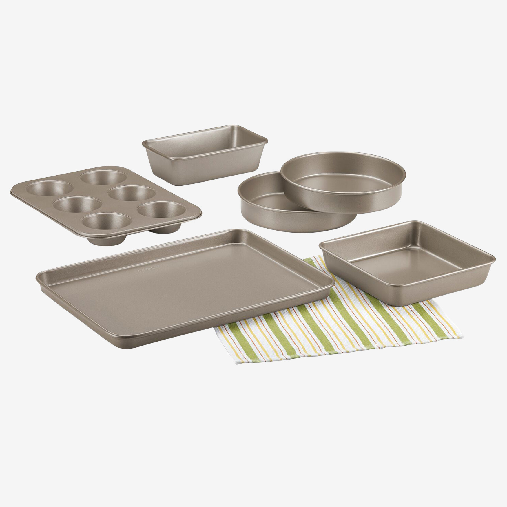 Cuisinart 6-Pc. Classic Bakeware Set, CHAMPAGNE