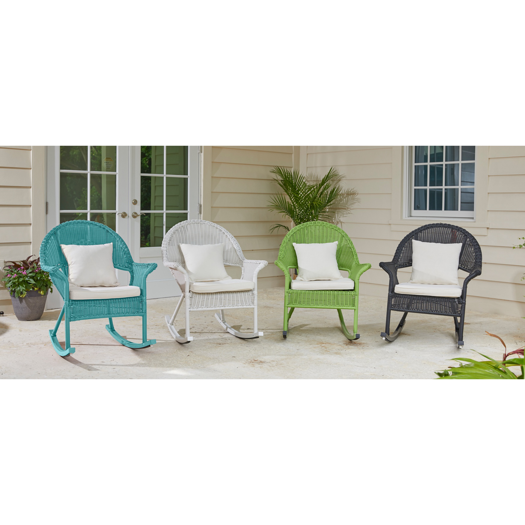 Roma All-Weather Rocking Chair,