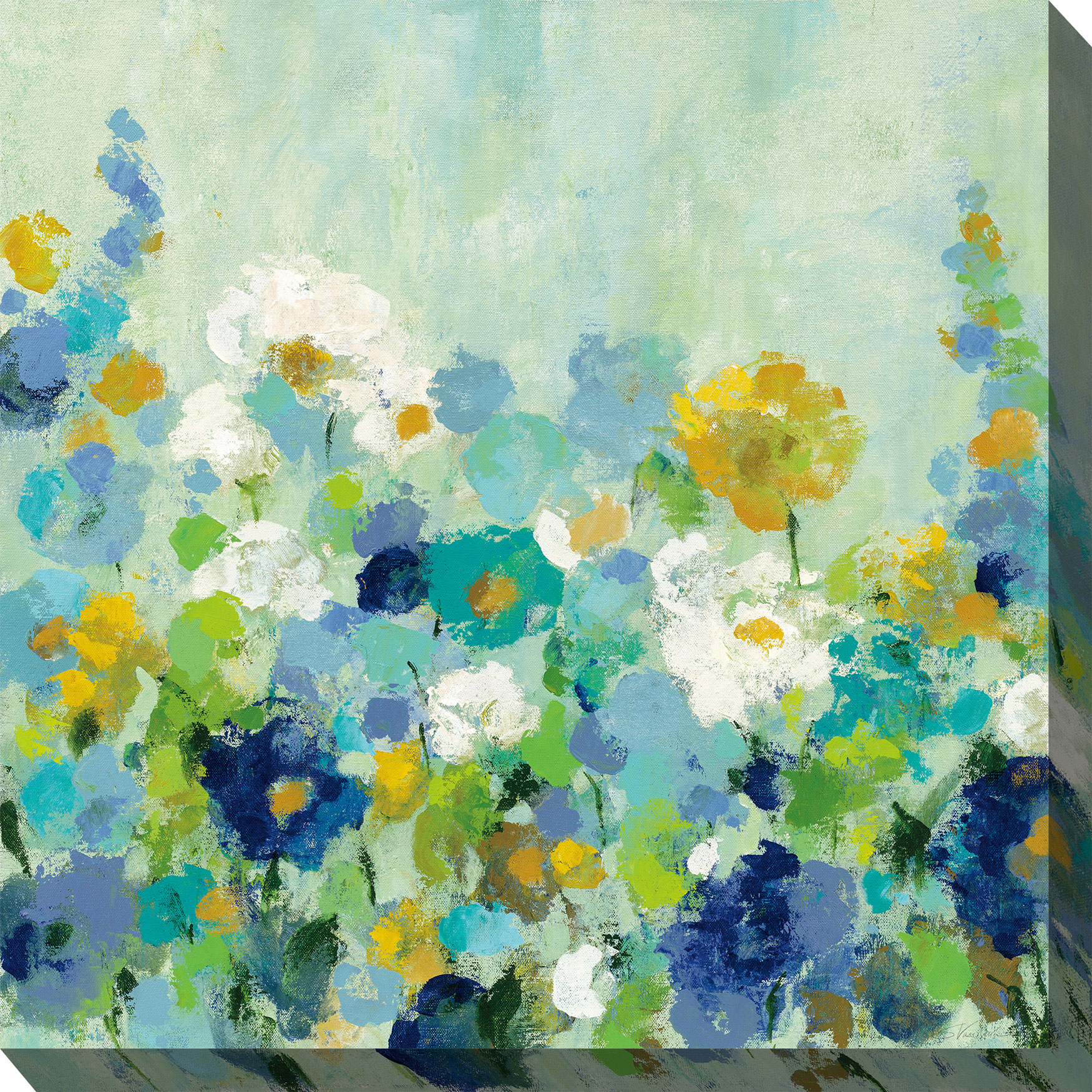 Midsummer Blue Wall Art, BLUE