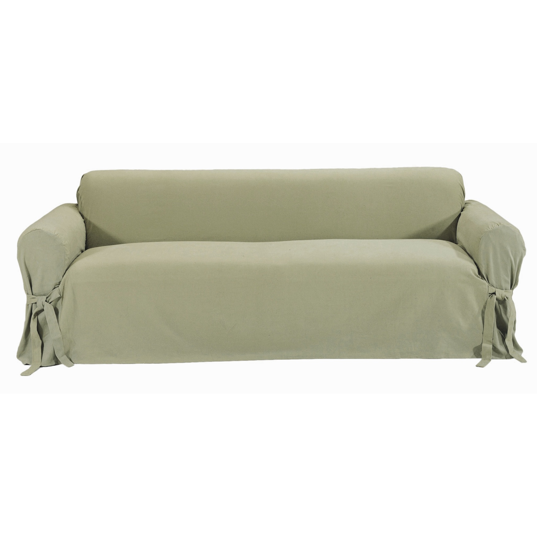 Twill 1-Pc. Slipcover by Classic Slip Covers, Inc.,