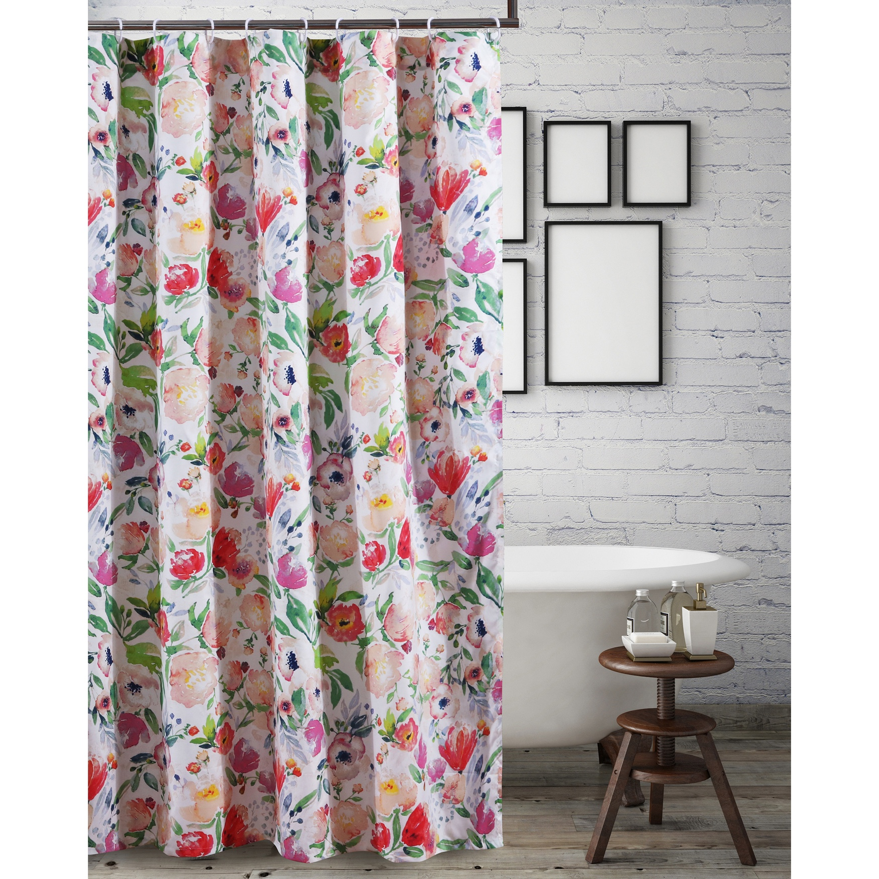 Blossom Shower Curtain by Barefoot Bungalow, MULTI