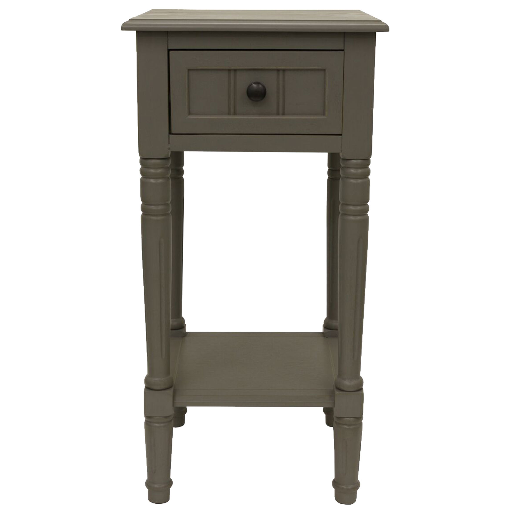 Chic Accent Table, GRAY