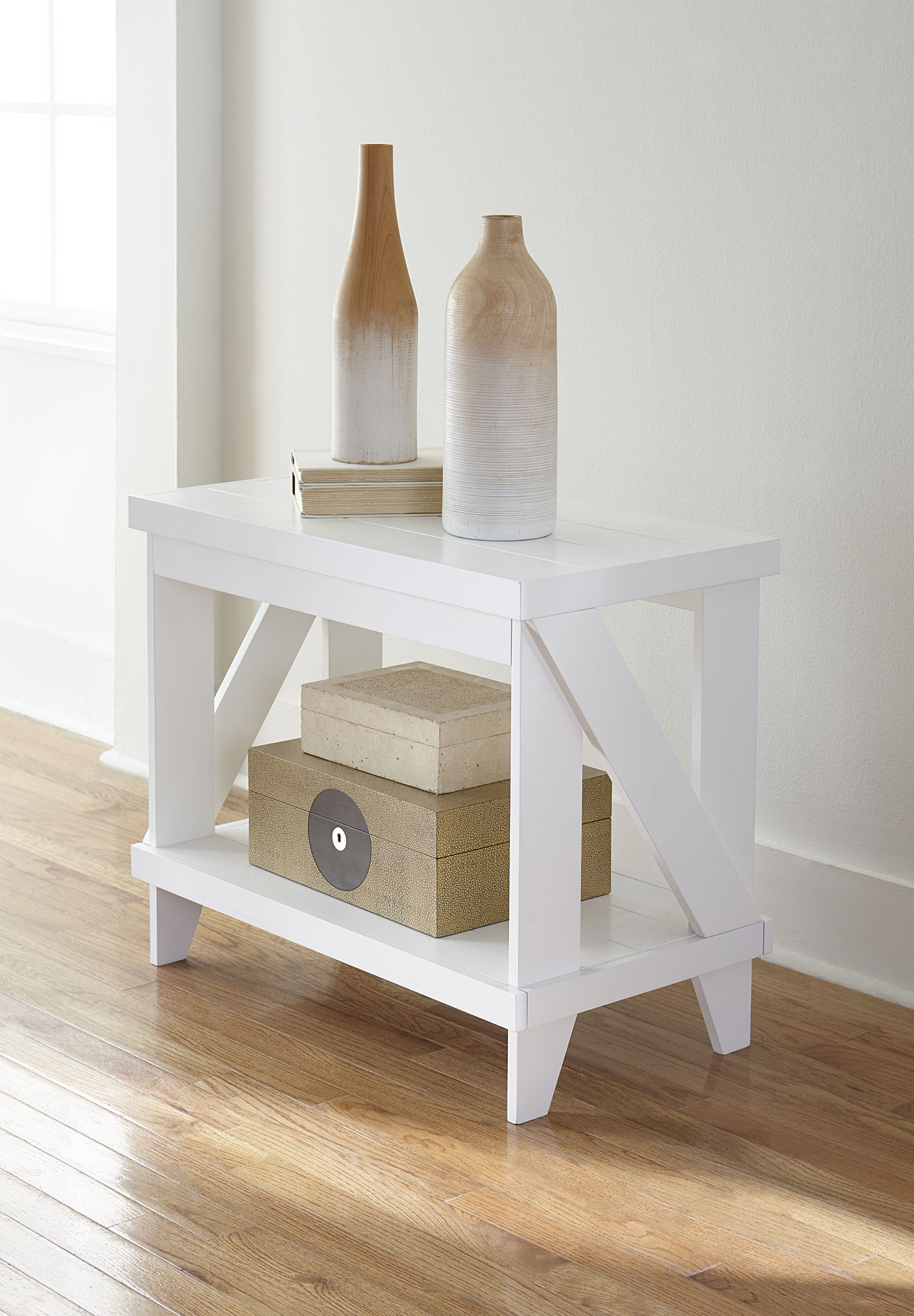 Kota Side Table, WHITE