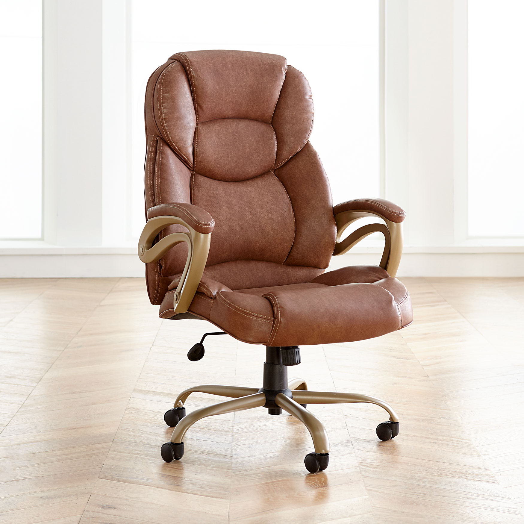 Extra Wide Memory Foam Office Chair | Plus Size Chairs ...