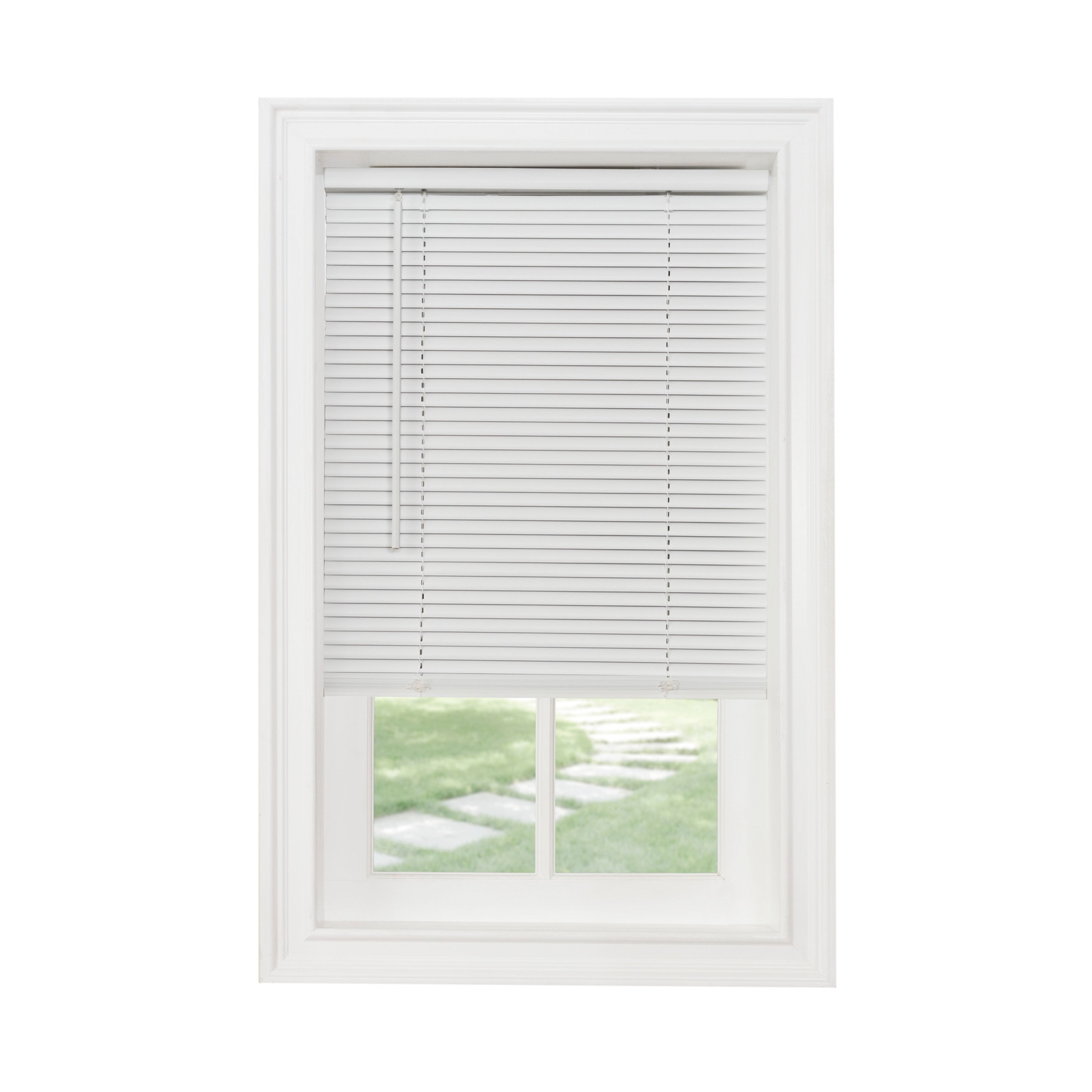 "Cordless GII Morningstar 1"" Light Filtering Mini Blind,"