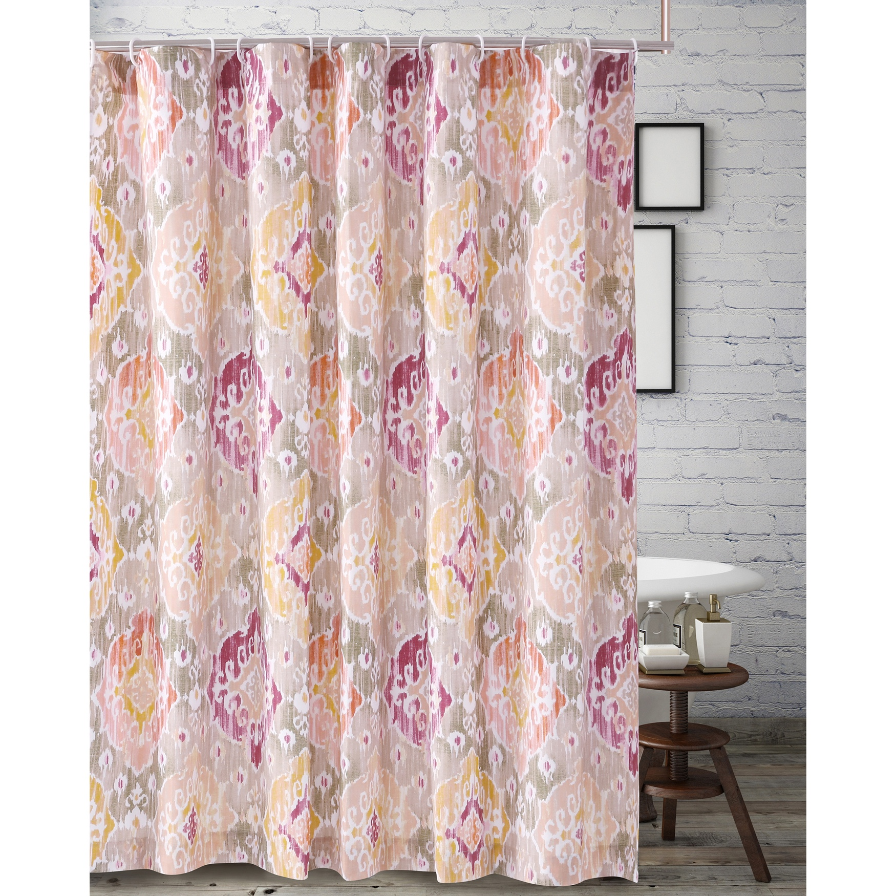 Ibiza Shower Curtain by Barefoot Bungalow, MULTI