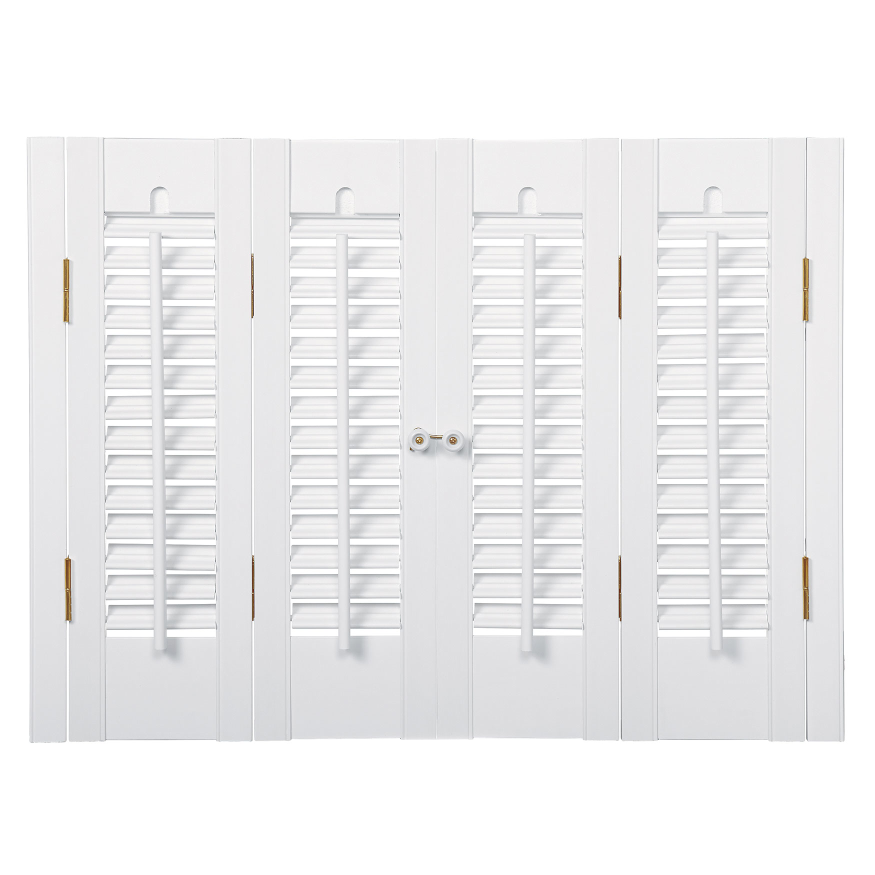 1¼' Louver Traditional Faux Wood Shutter,