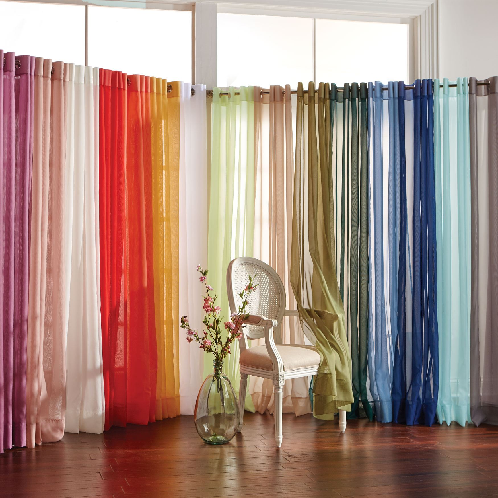 BH Studio Voile Window Collection,