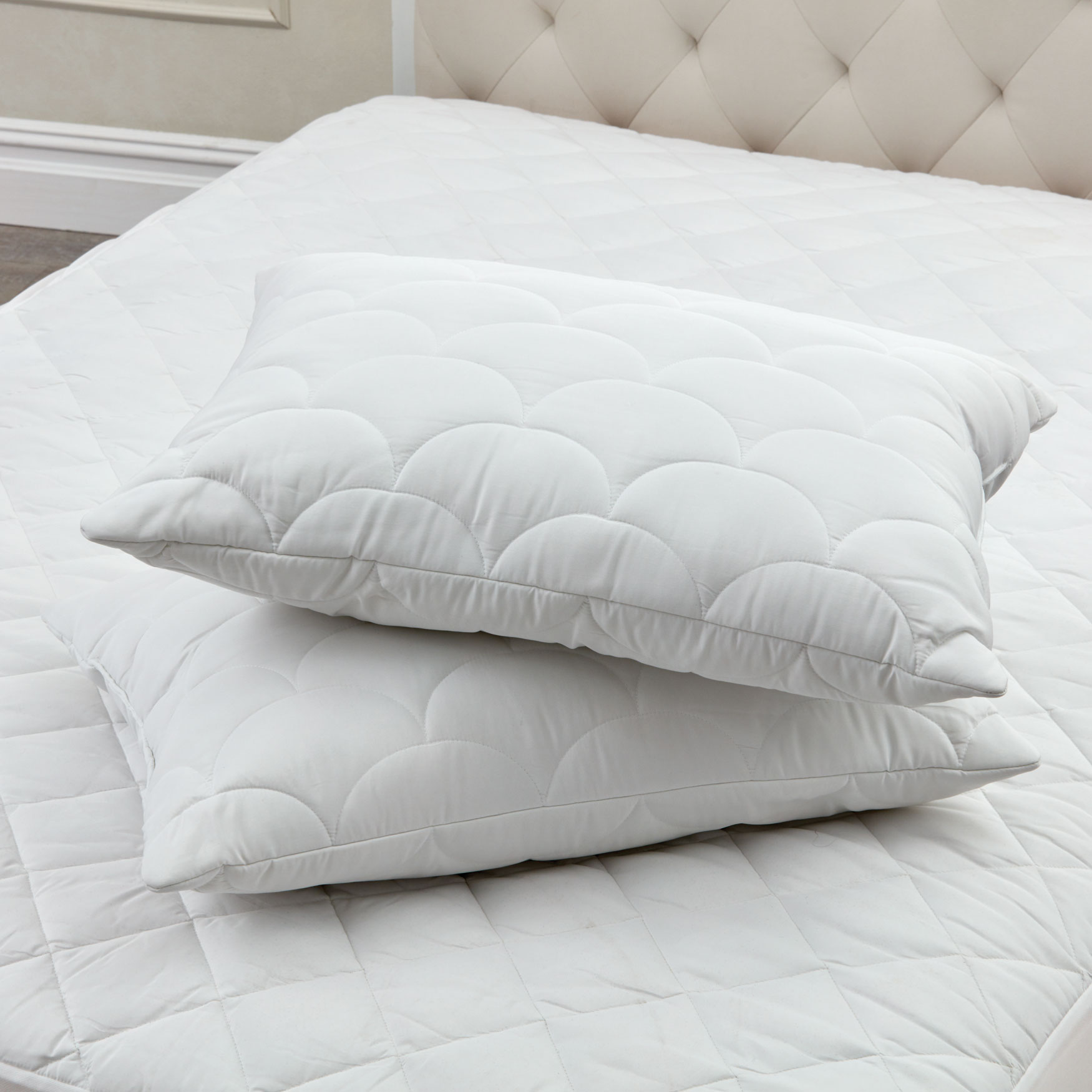 Cloud Puff Pillow, WHITE