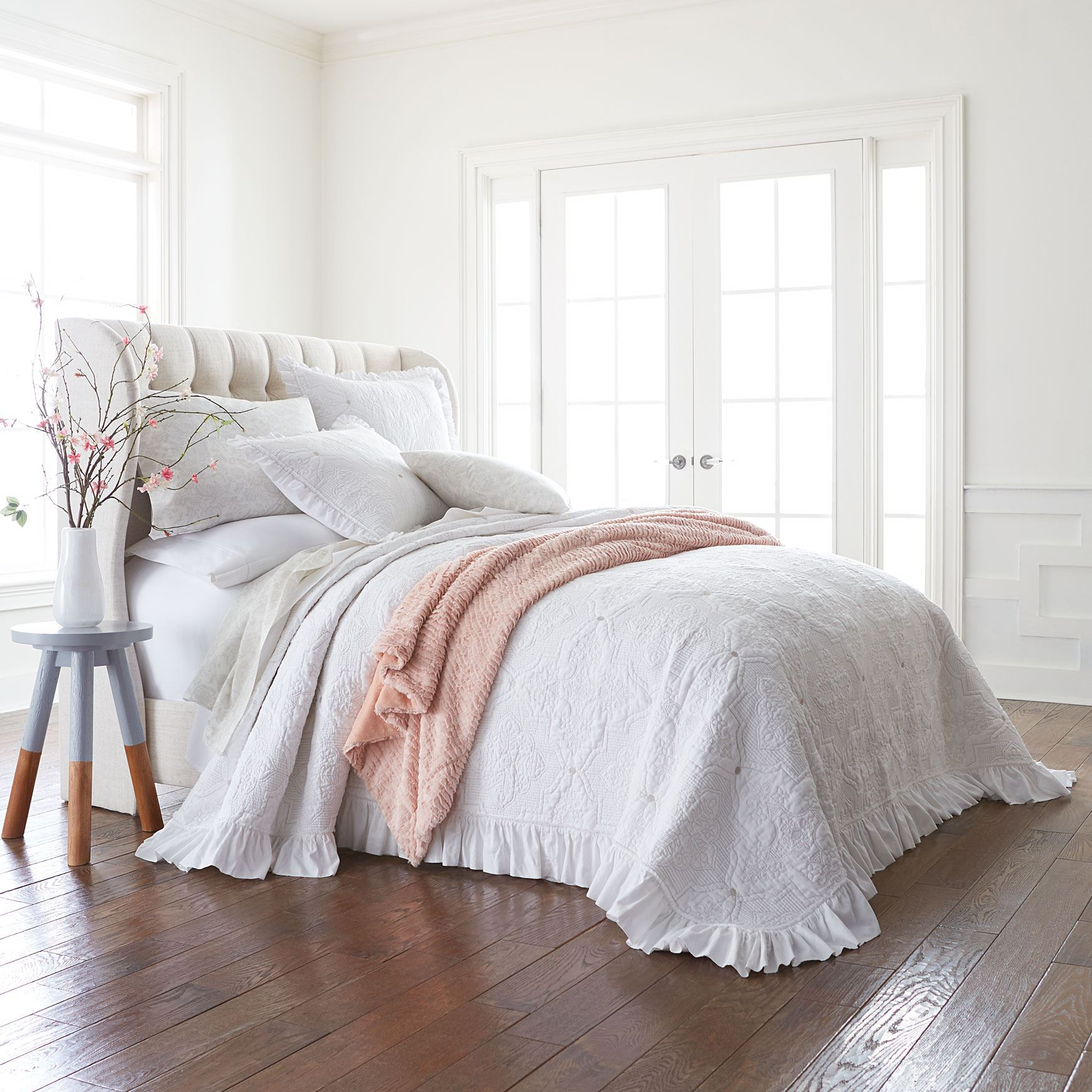 Sophia Ruffle Bedspread Collection,
