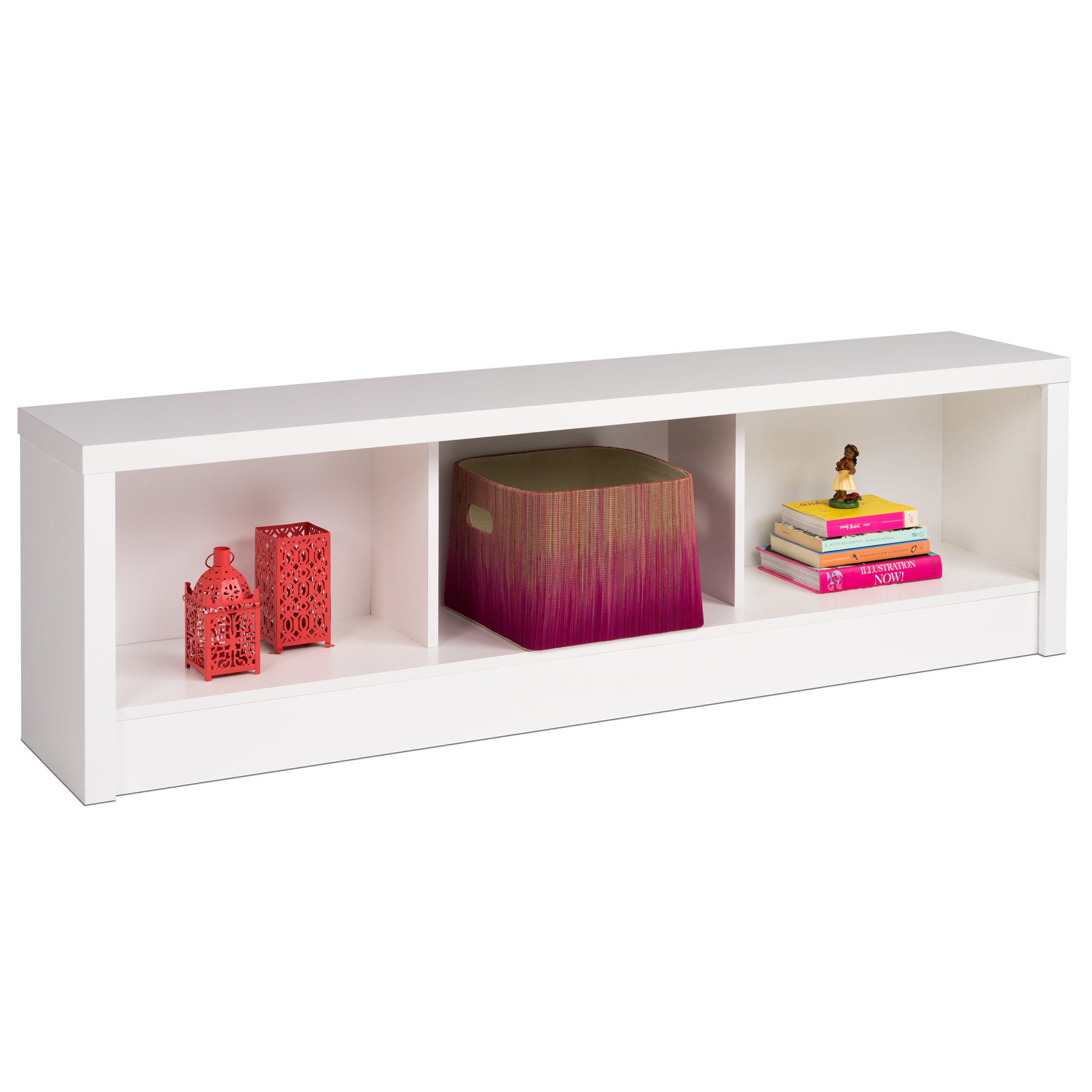 Calla Storage Bench , WHITE